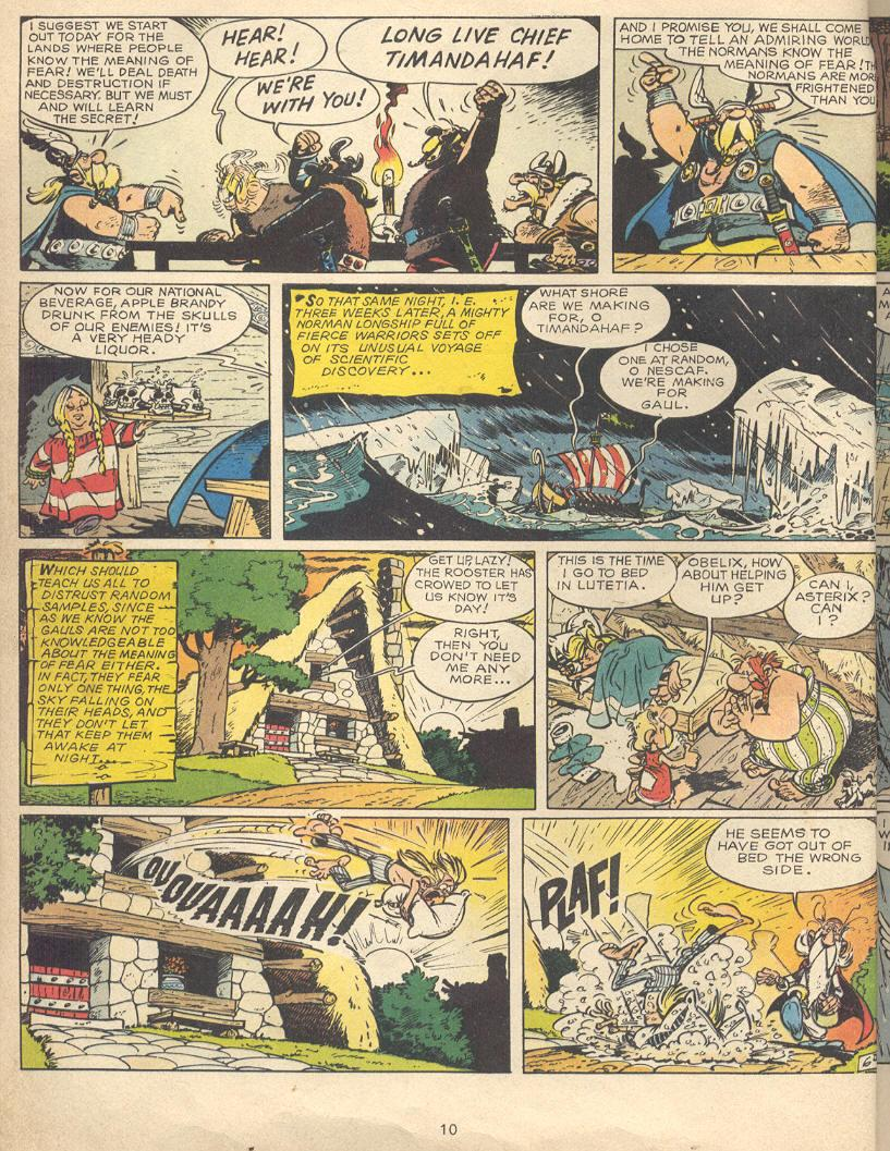 Read online Asterix comic -  Issue #9 - 7