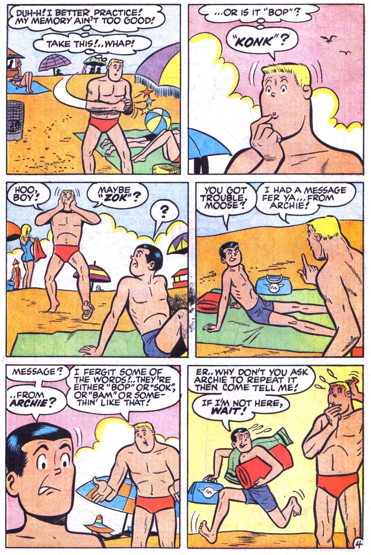Read online Archie (1960) comic -  Issue #177 - 6