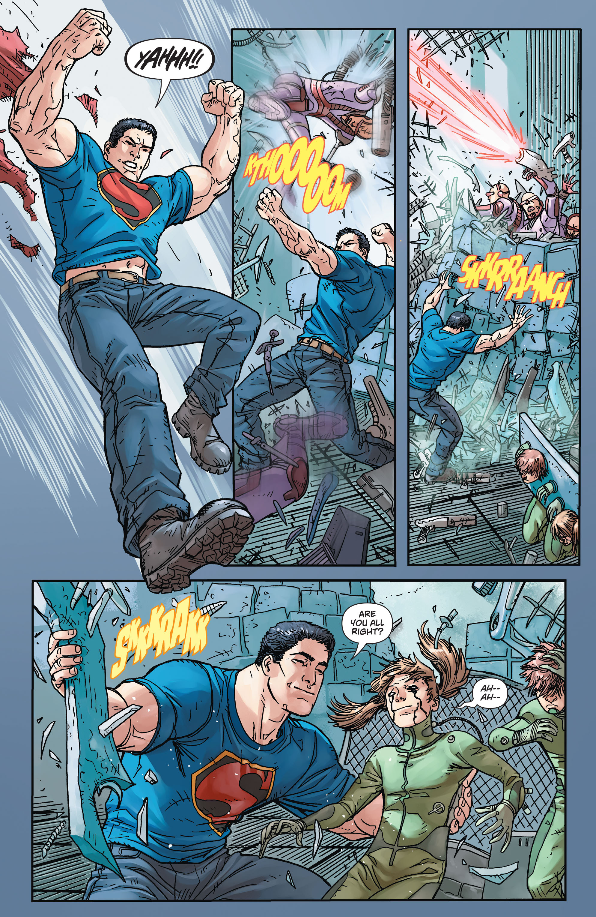 Read online Action Comics (2011) comic -  Issue #45 - 22