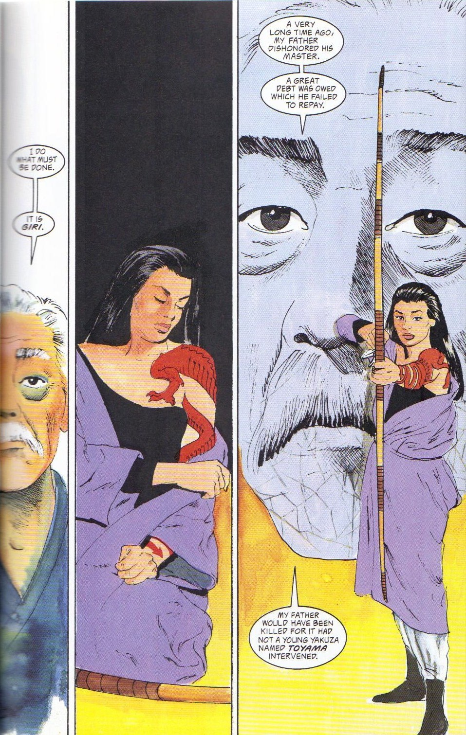 Read online Shado: Song of the Dragon comic -  Issue #2 - 13