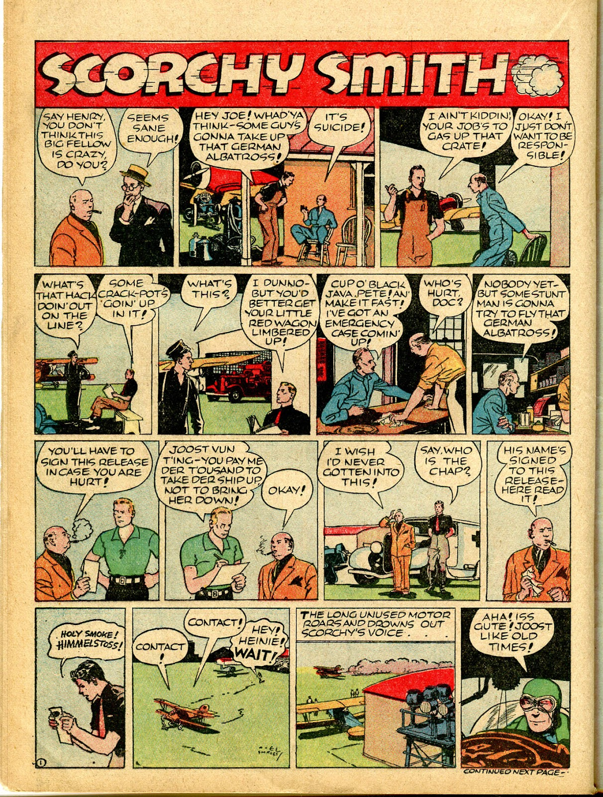 Read online Famous Funnies comic -  Issue #54 - 46