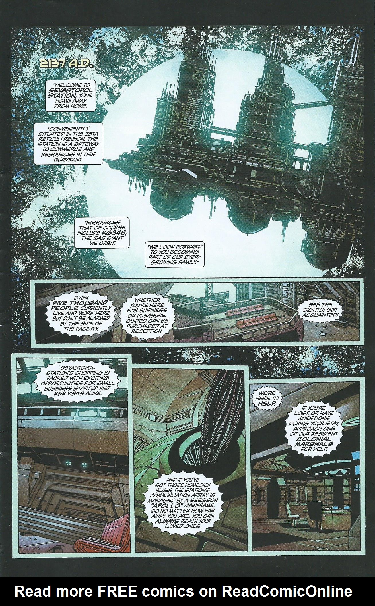 Read online Alien: Isolation comic -  Issue # Full - 2