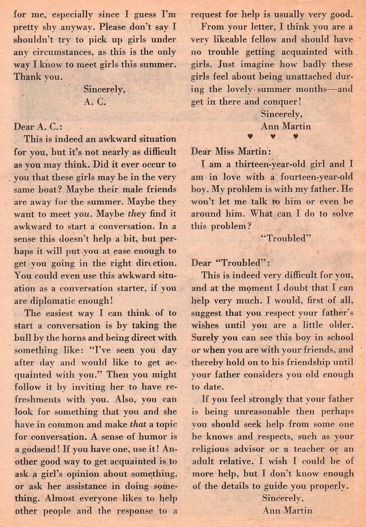 Read online Secret Hearts comic -  Issue #77 - 26
