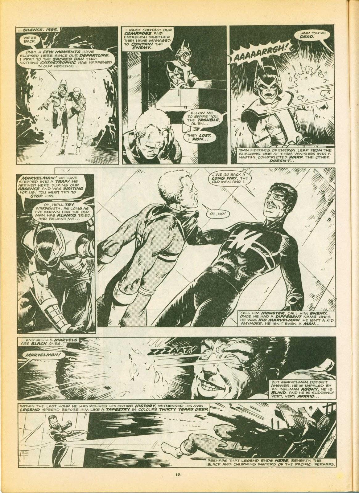 Warrior Issue #4 #5 - English 12