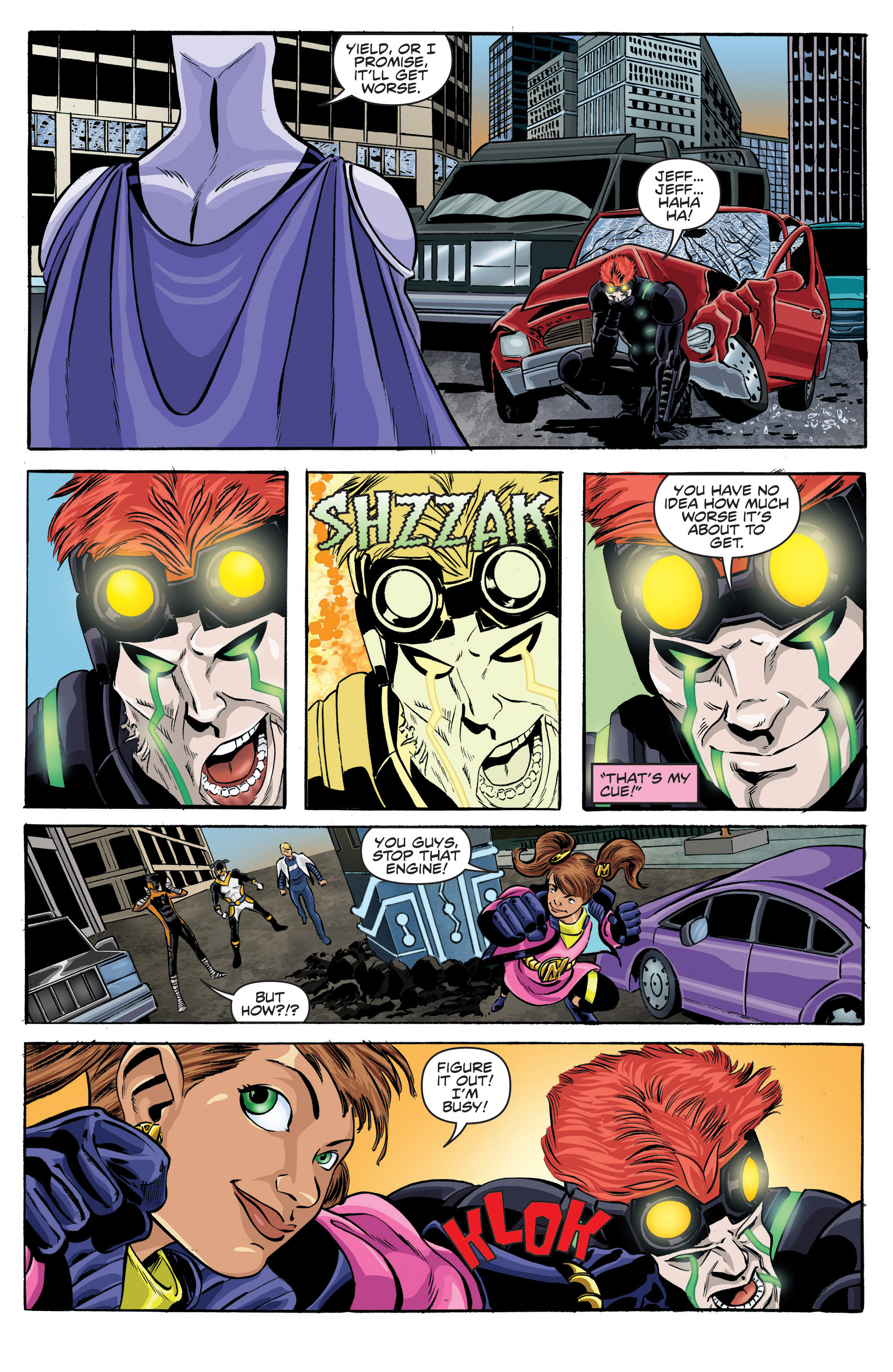Read online Actionverse comic -  Issue #6 - 6