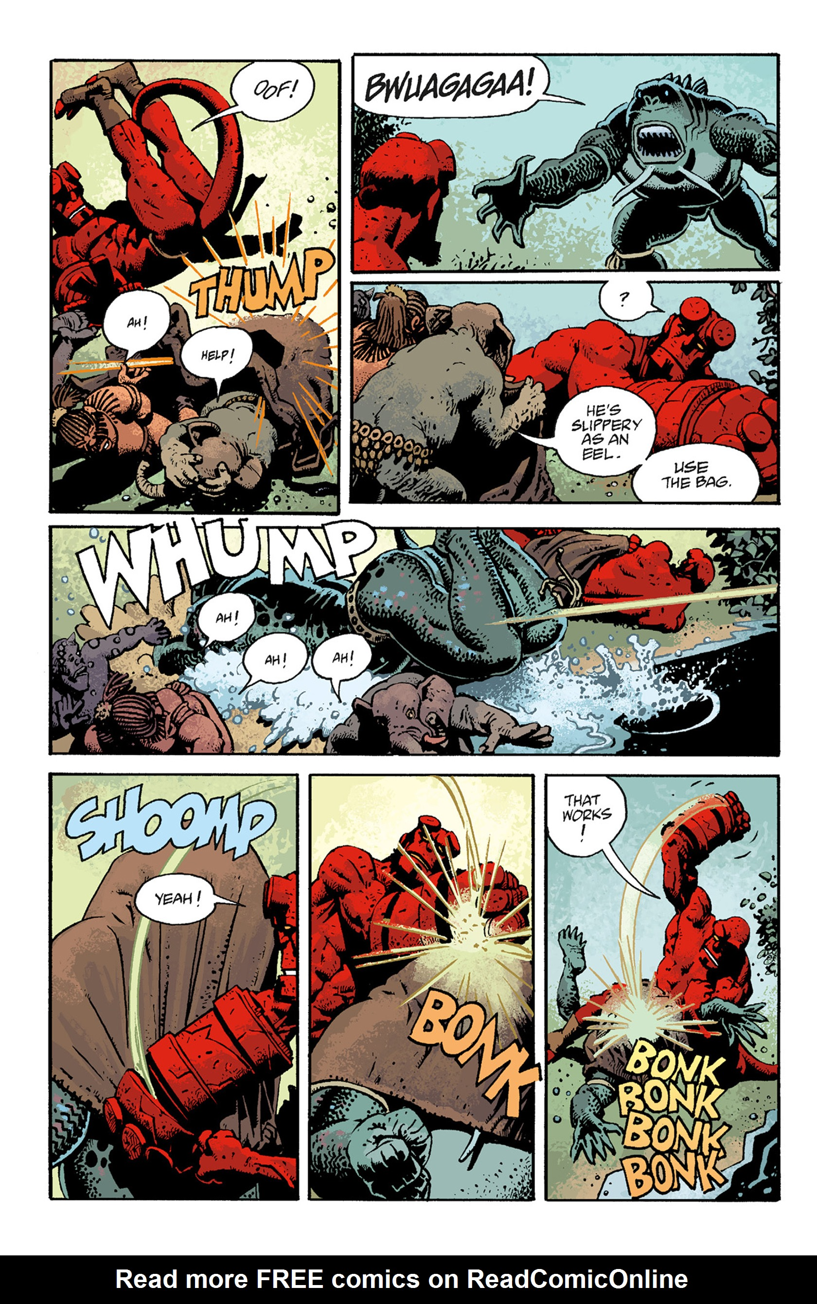 Read online Hellboy: The Troll Witch and Others comic -  Issue # TPB - 100