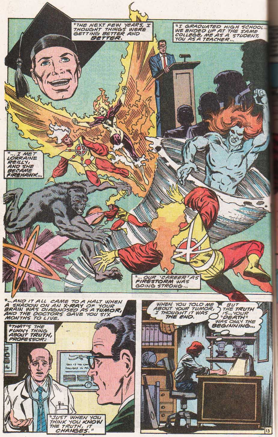 Firestorm, the Nuclear Man Issue #100 #36 - English 14