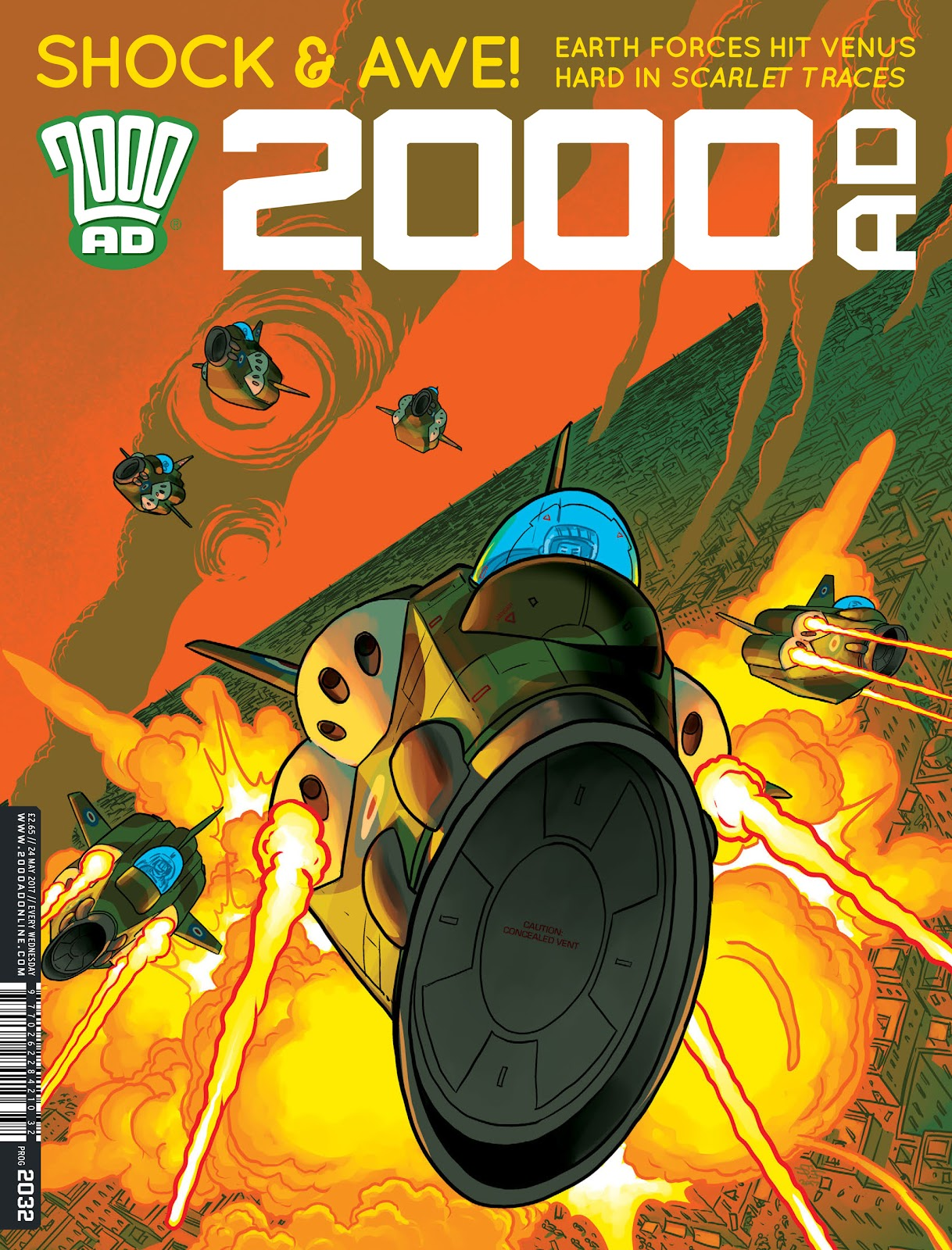 Read online 2000 AD comic -  Issue #2032 - 1