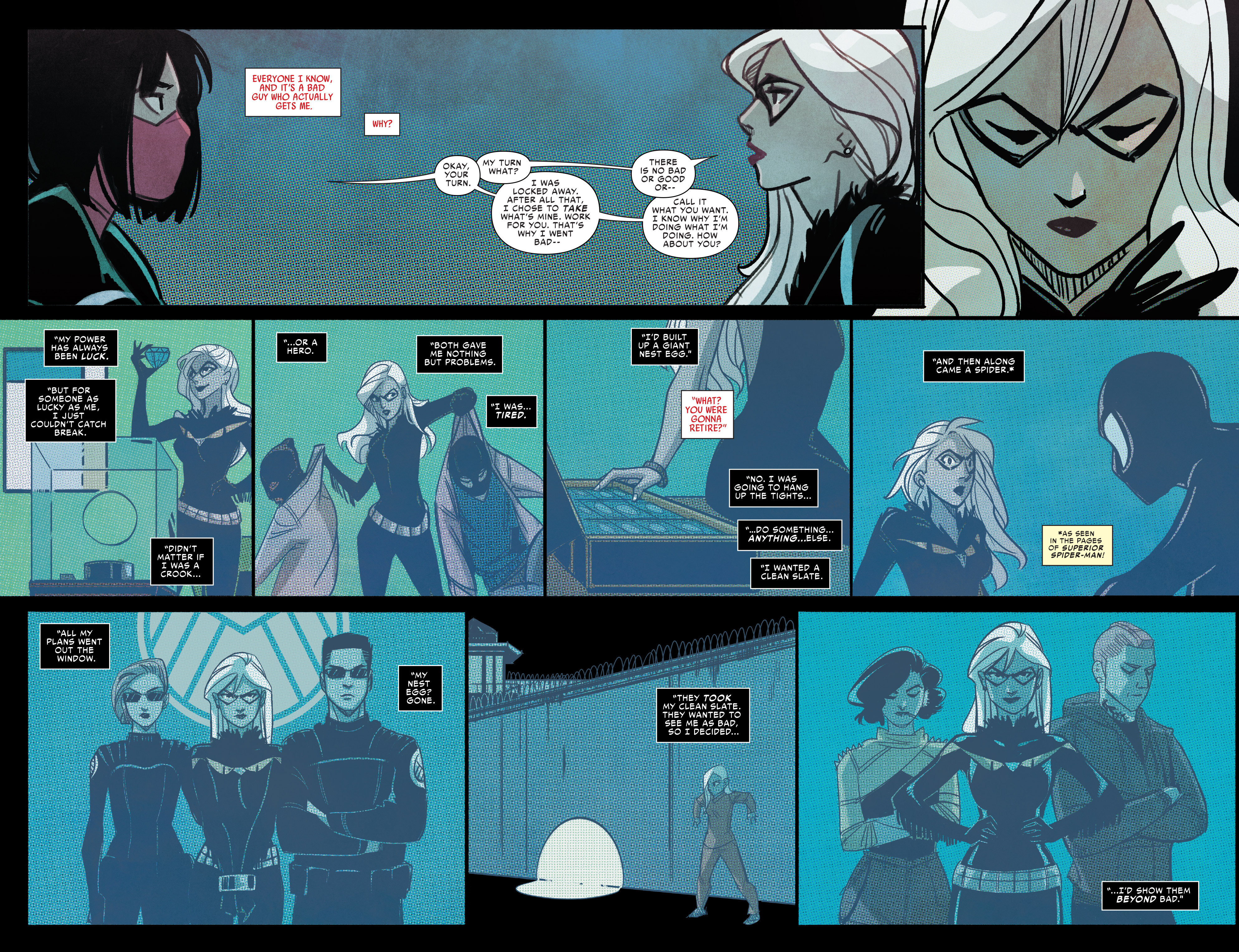 Read online Silk (2016) comic -  Issue #9 - 11