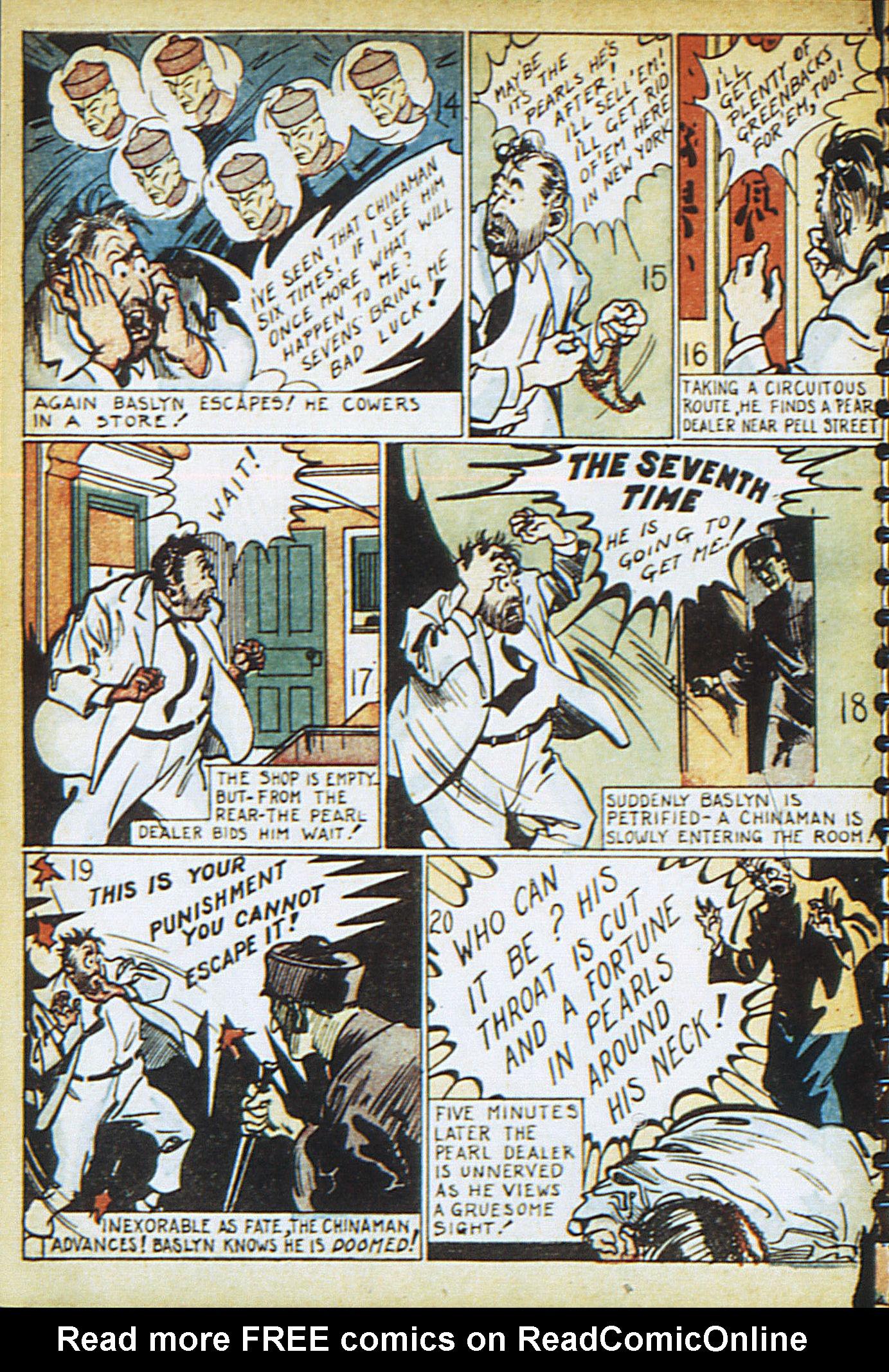 Read online Adventure Comics (1938) comic -  Issue #13 - 18