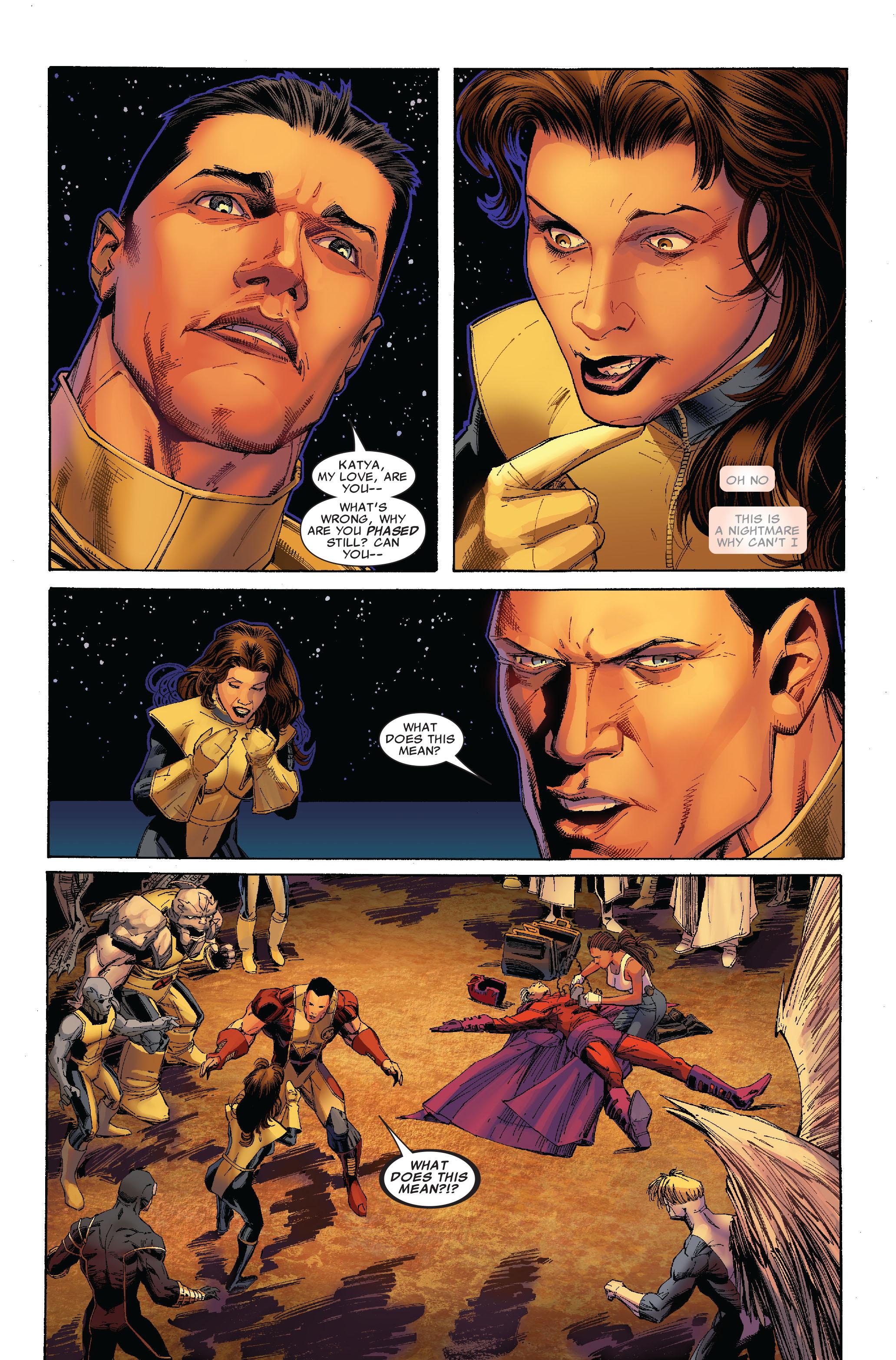 Read online Uncanny X-Men (1963) comic -  Issue #522 - 22