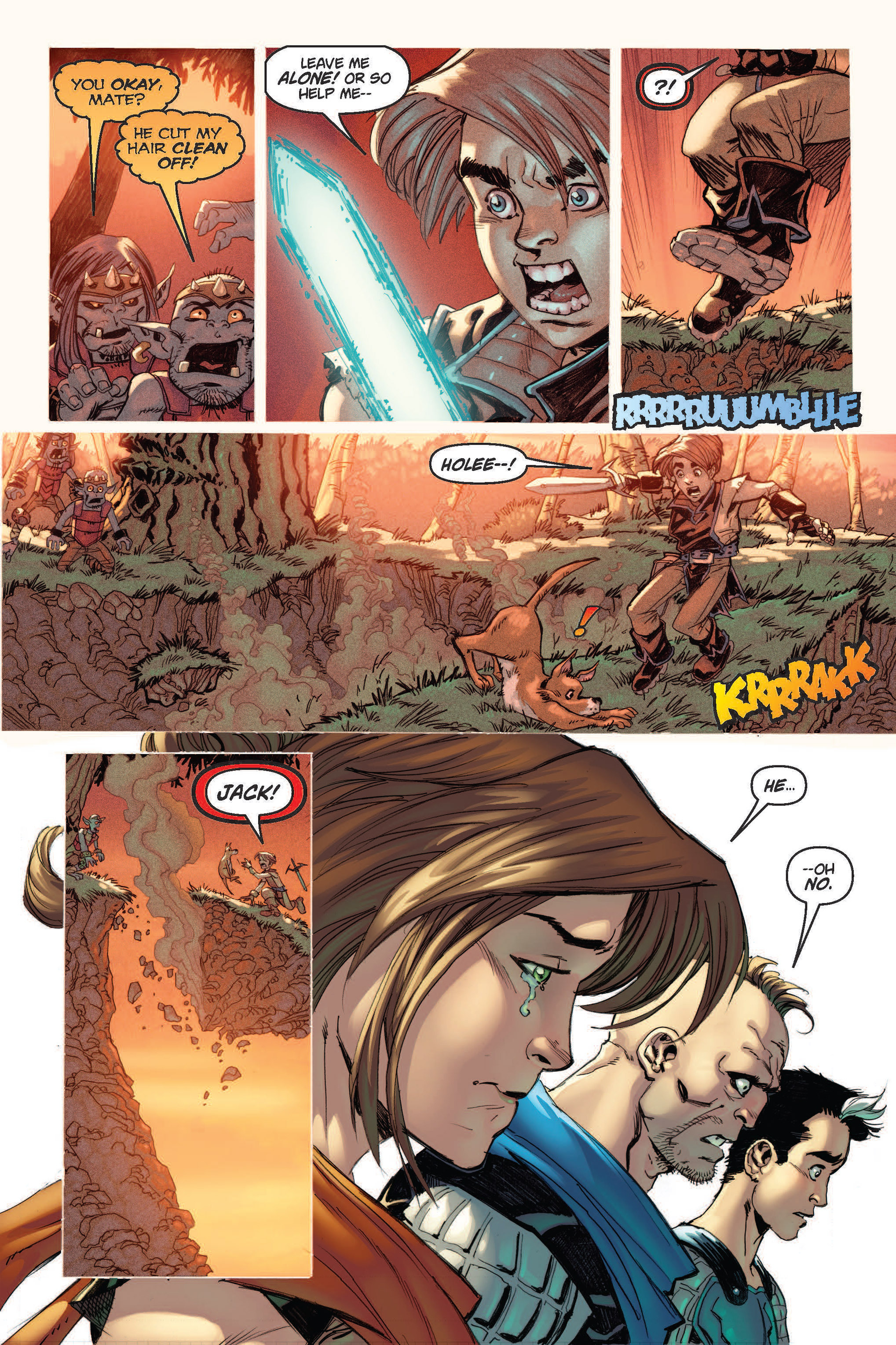 Read online Skyward comic -  Issue #2 - 19