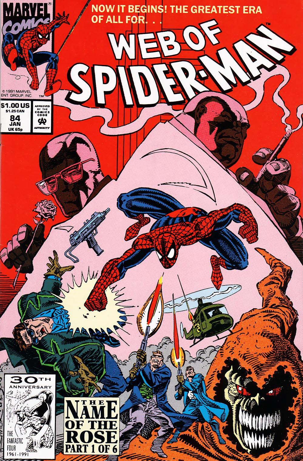 Web of Spider-Man (1985) 84 Page 1