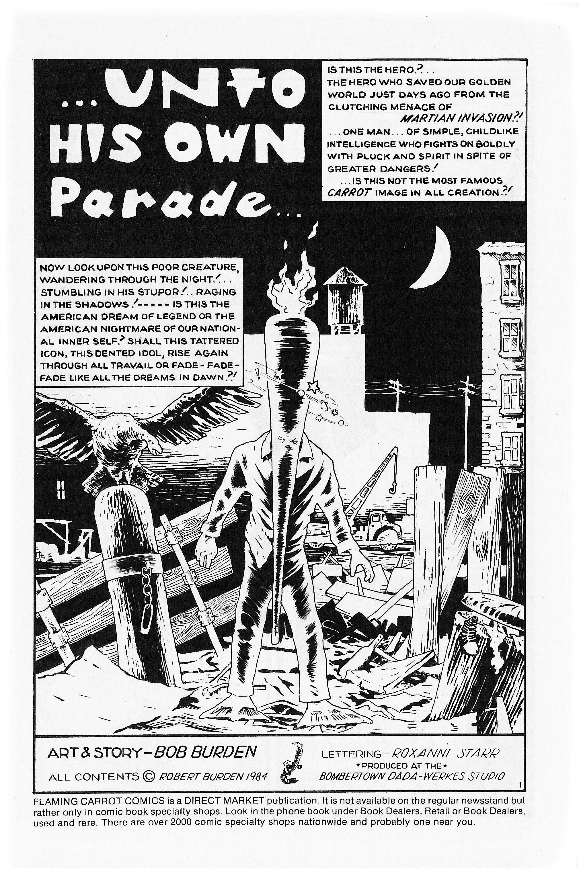 Read online Flaming Carrot Comics (1984) comic -  Issue #5 - 3