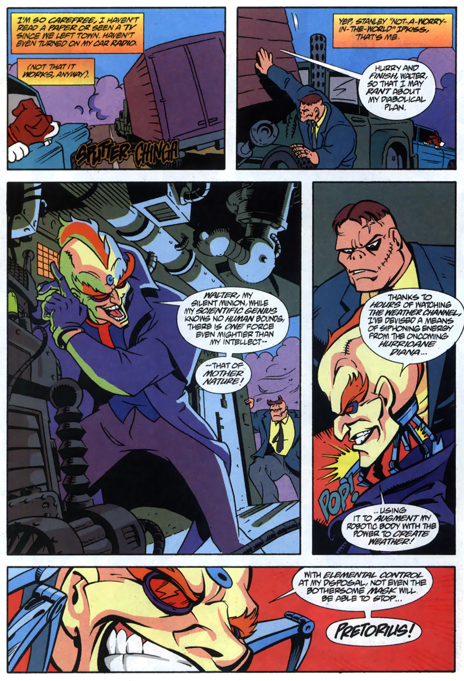 Read online Adventures Of The Mask comic -  Issue #5 - 5