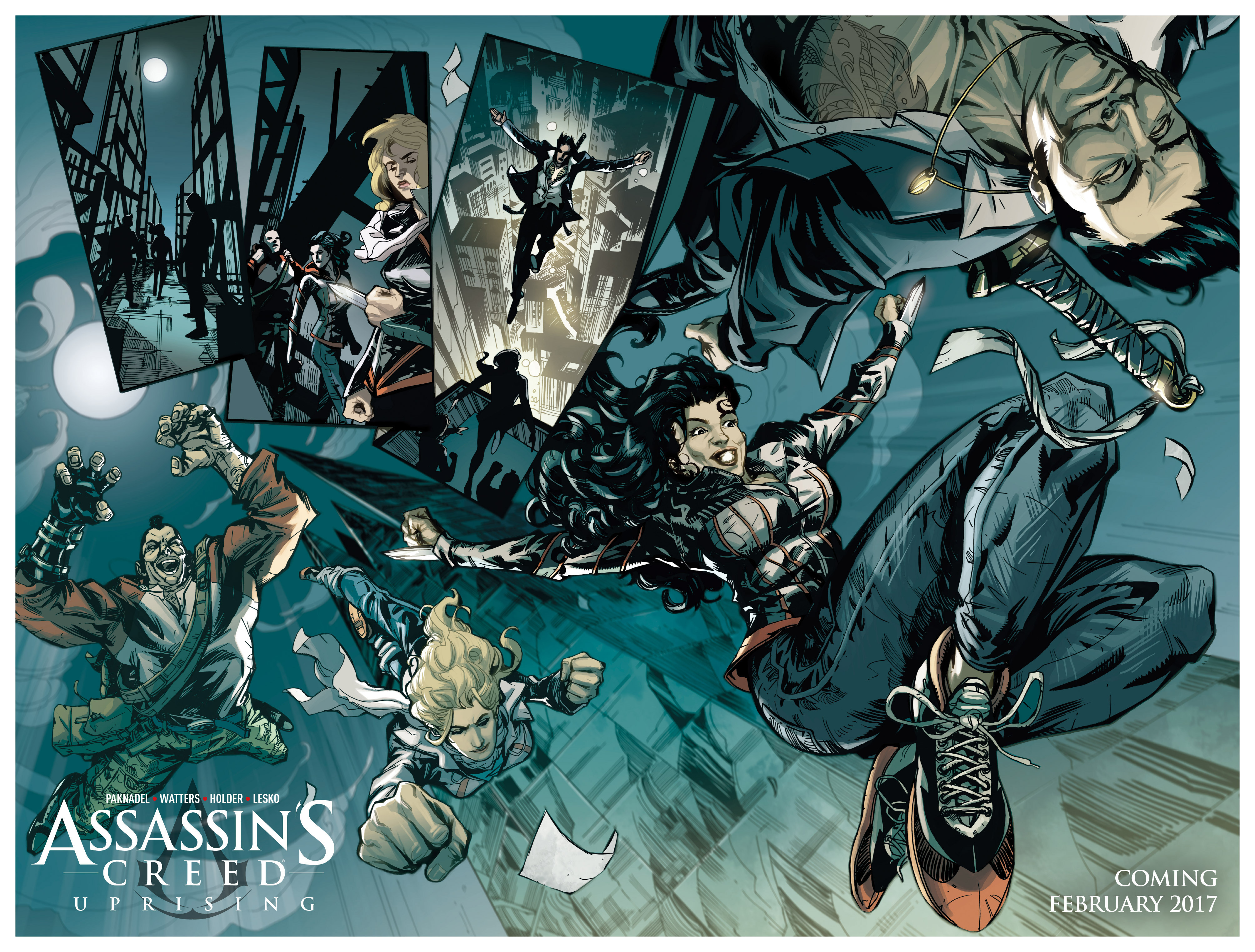 Read online Assassin's Creed (2015) comic -  Issue #14 - 33