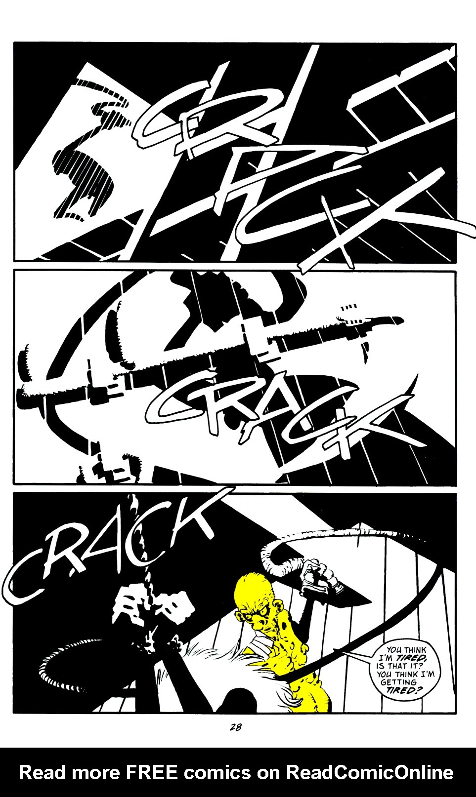 Read online Sin City: That Yellow Bastard comic -  Issue #6 - 28