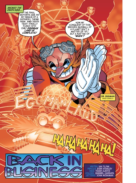 Read online Sonic Comics Spectacular: Speed of Sound comic -  Issue # Full - 132