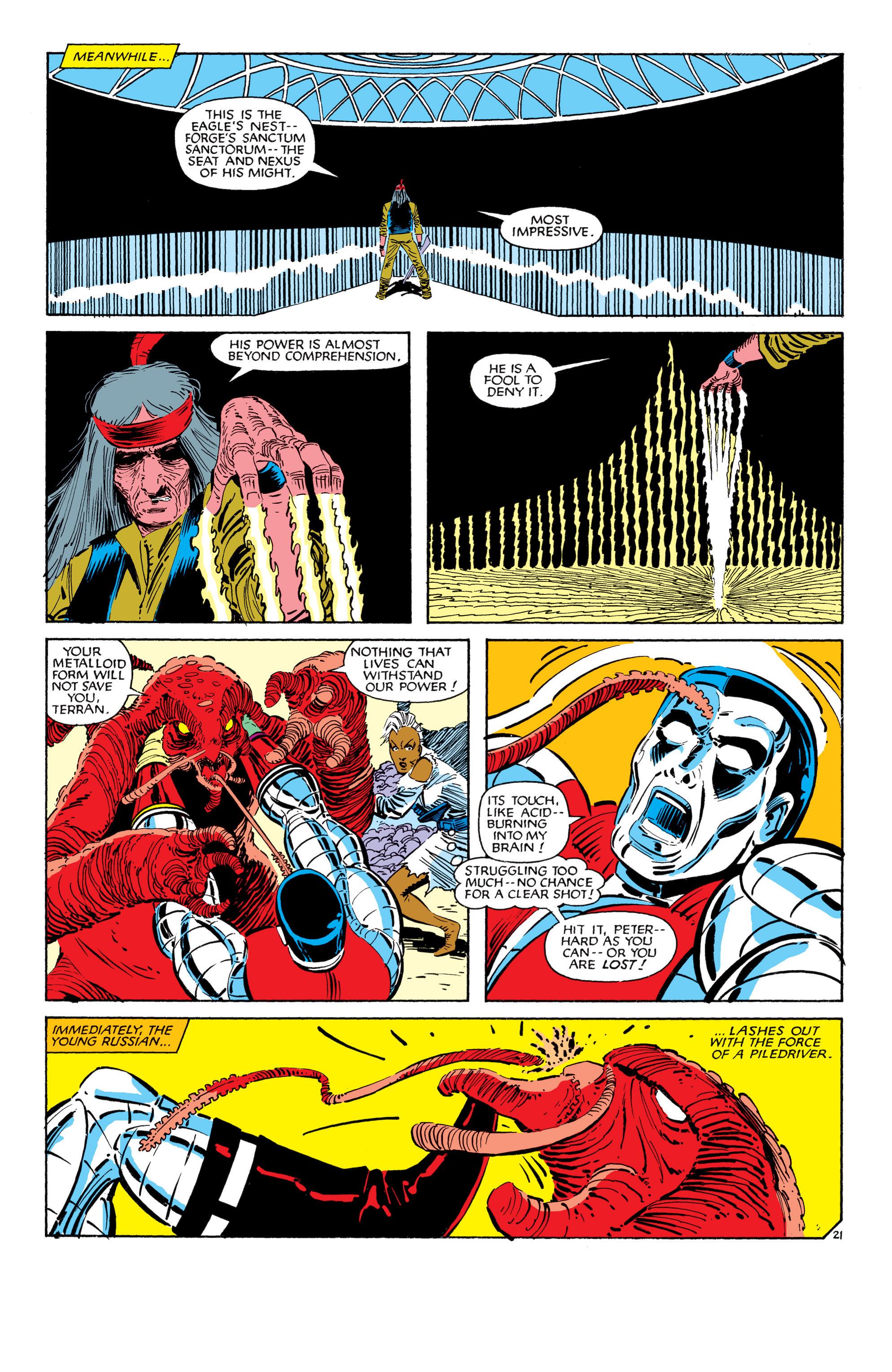 Read online Uncanny X-Men (1963) comic -  Issue #187 - 22