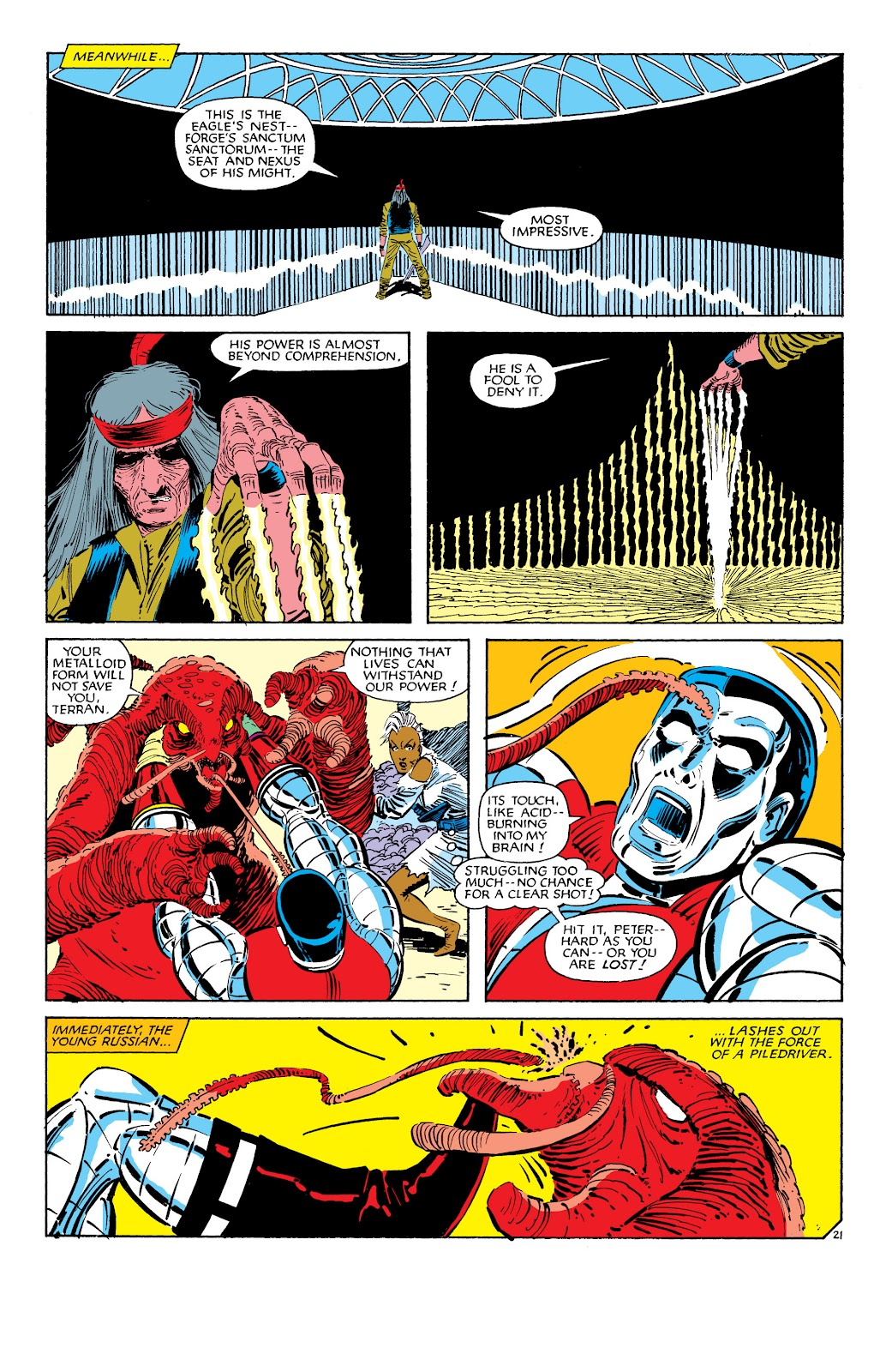 Uncanny X-Men (1963) issue 187 - Page 22