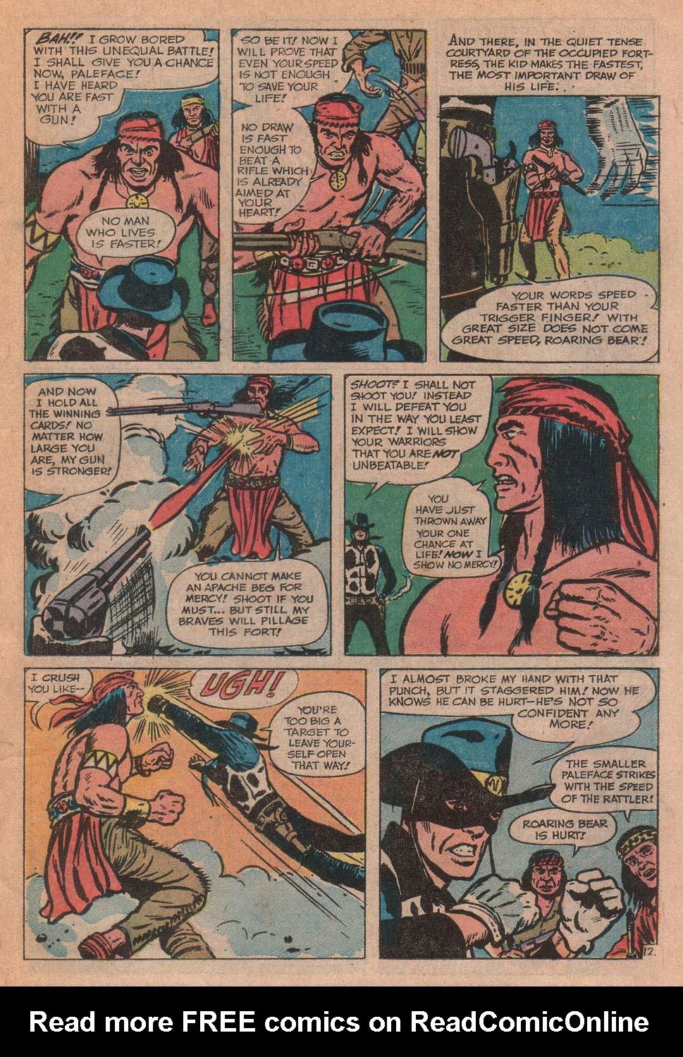Read online Two-Gun Kid comic -  Issue #112 - 19