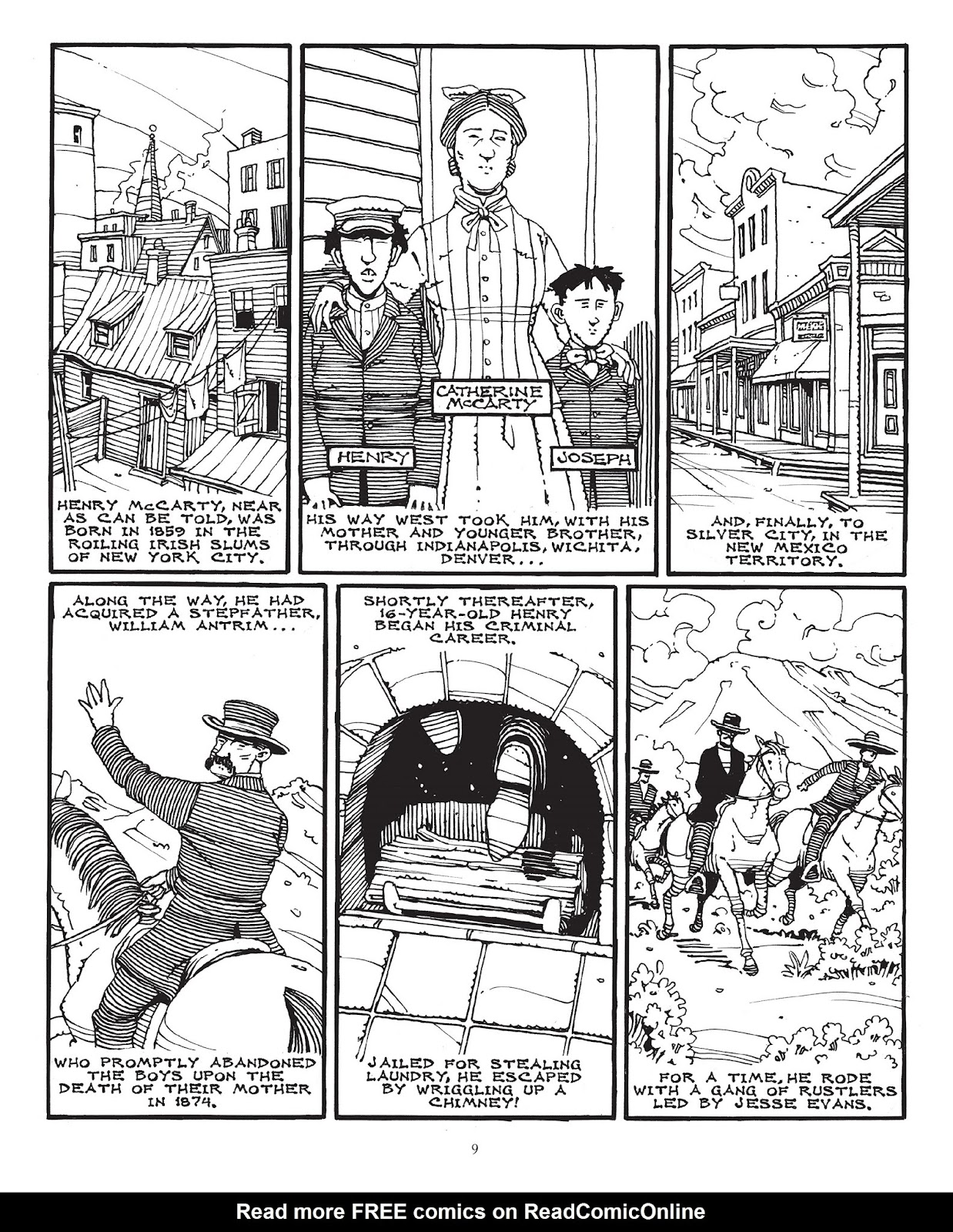 The True Death Of Billy The Kid Tpb   Read The True Death