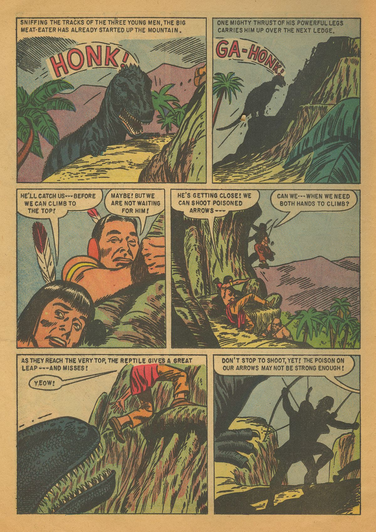 Read online Turok, Son of Stone comic -  Issue #4 - 12