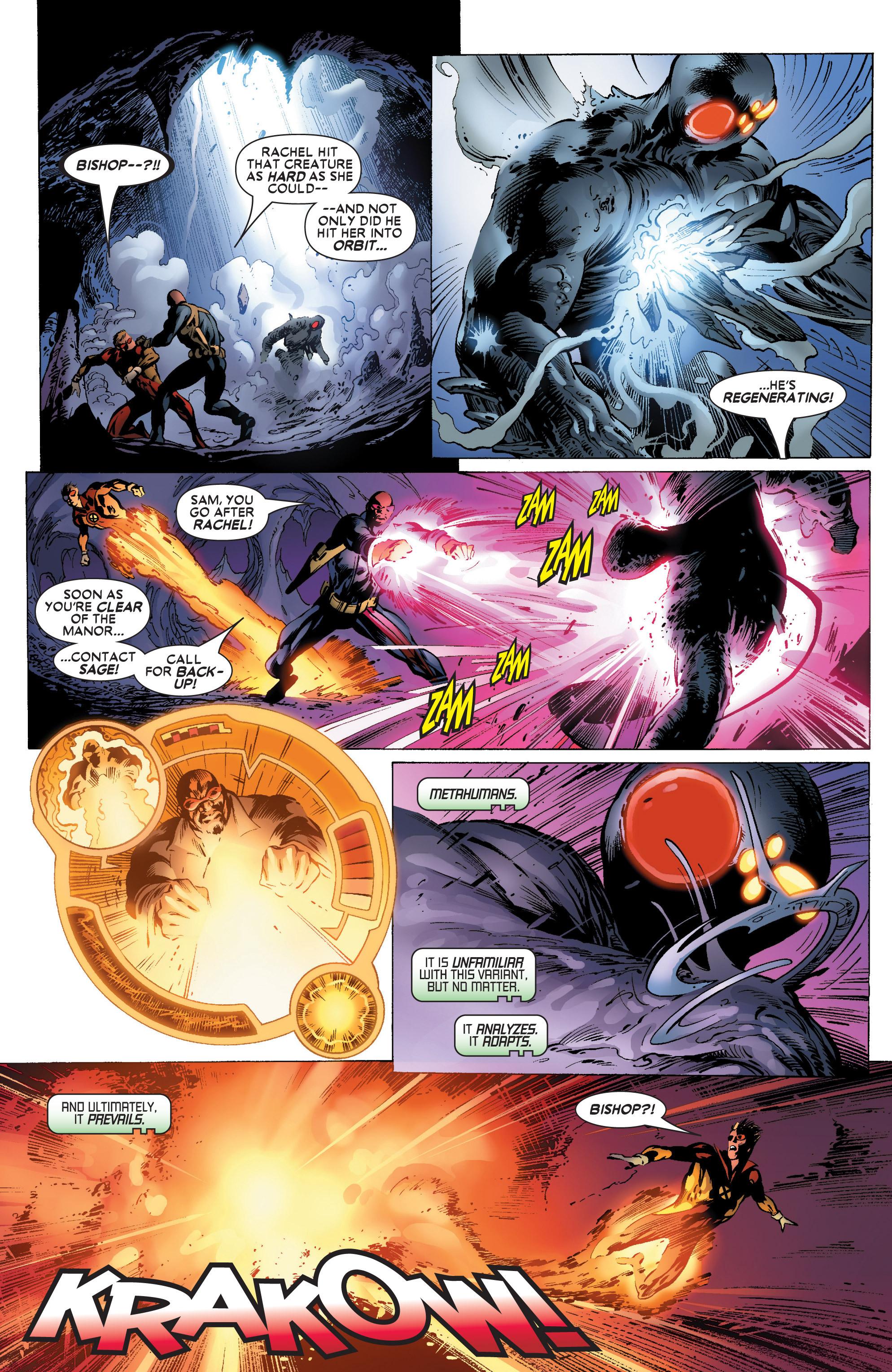 Read online Uncanny X-Men (1963) comic -  Issue #445 - 22