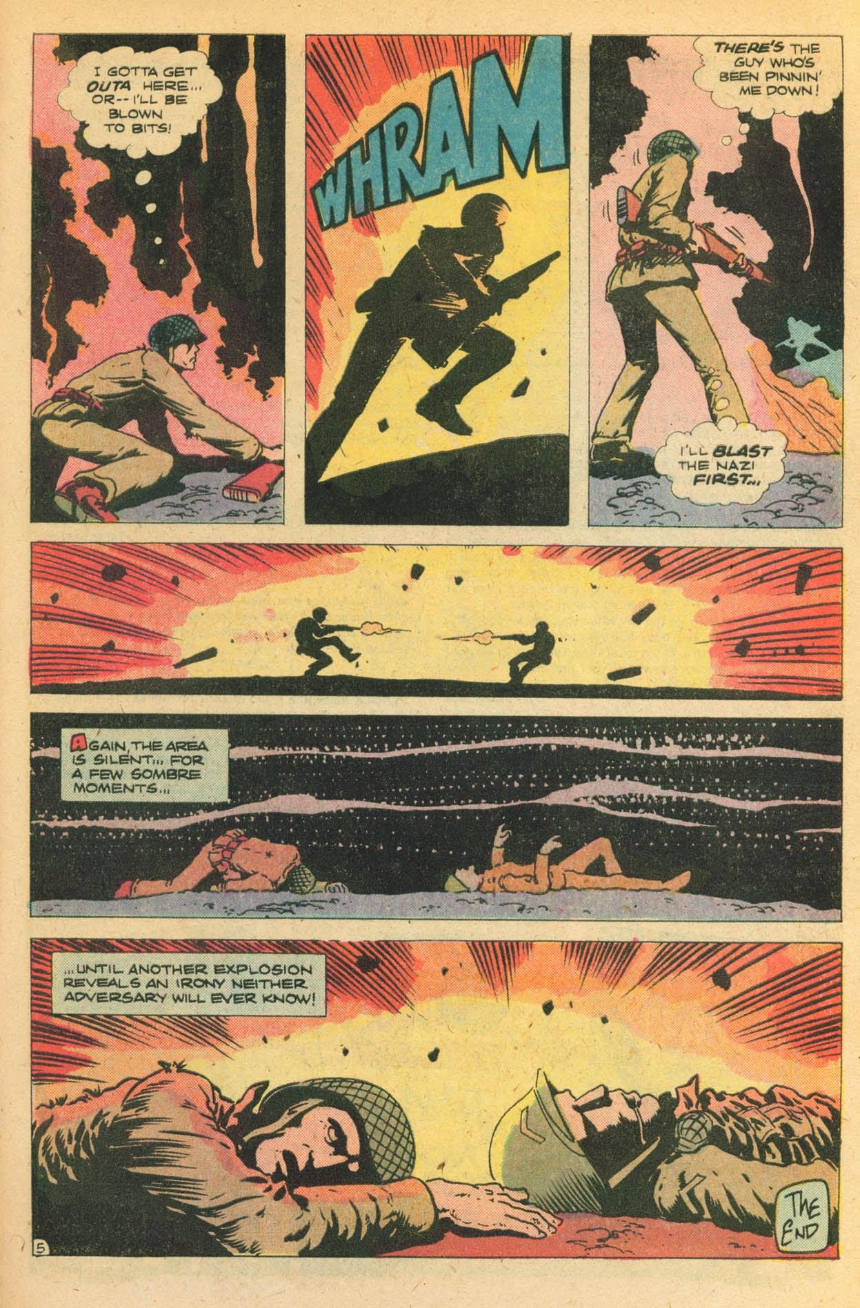 Read online Sgt. Rock comic -  Issue #329 - 31