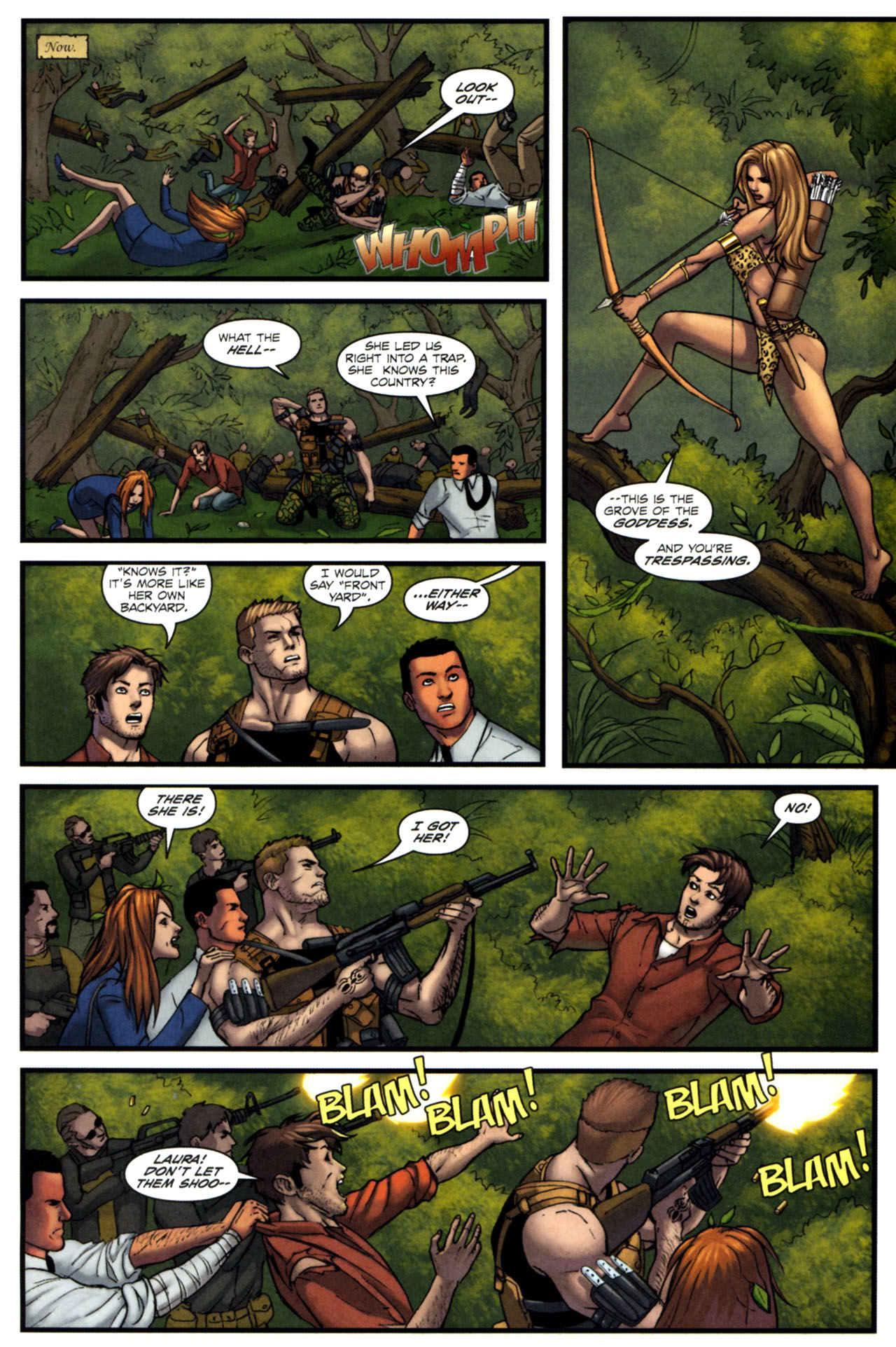 Read online Sheena, Queen of the Jungle comic -  Issue #4 - 18