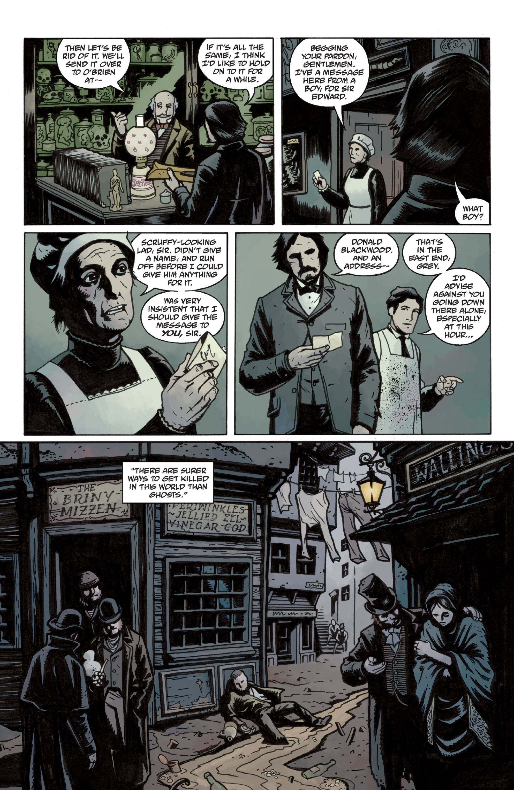 Read online Sir Edward Grey, Witchfinder: In the Service of Angels comic -  Issue # TPB - 26
