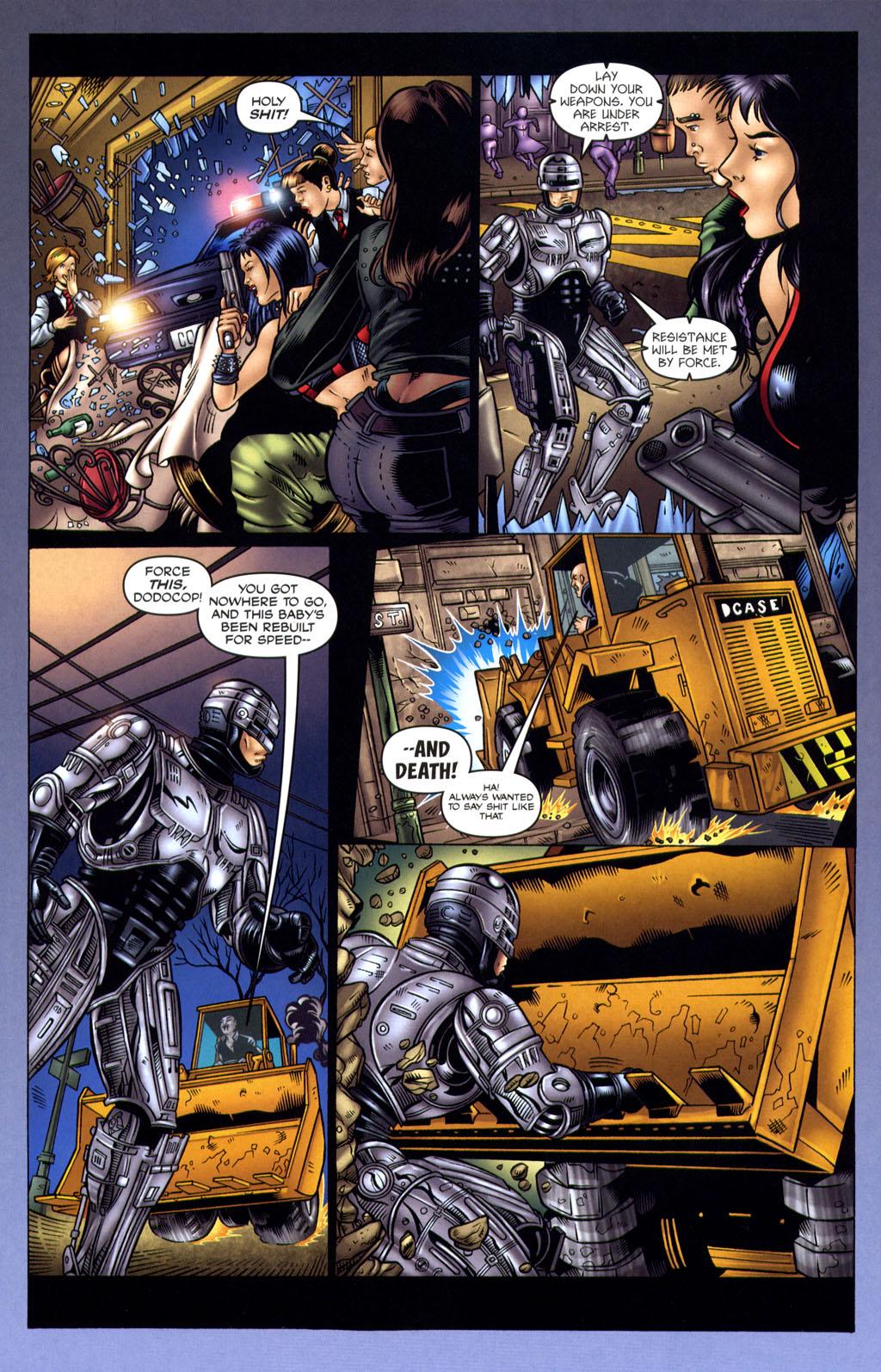 Read online Robocop: Wild Child comic -  Issue # Full - 12