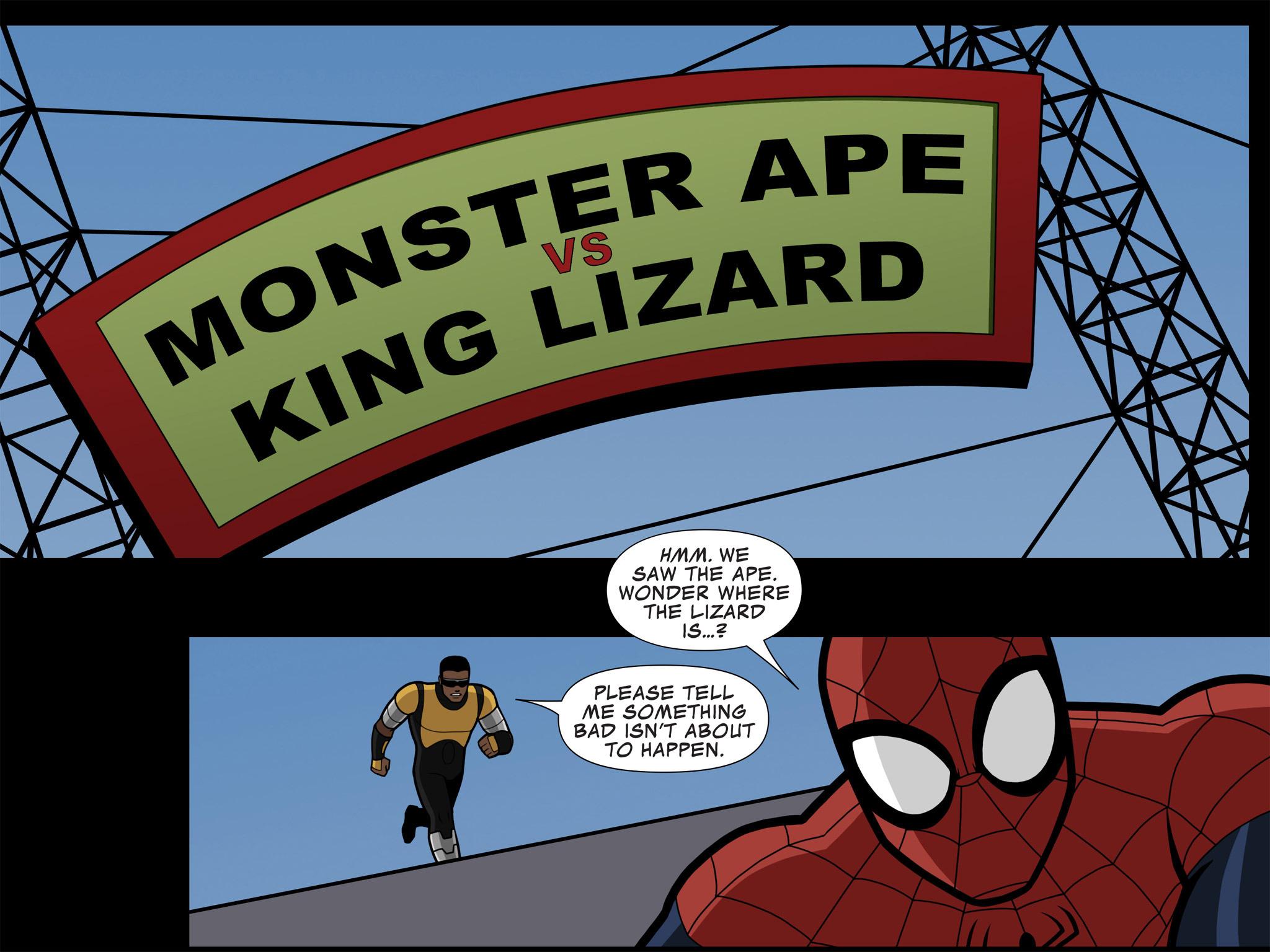 Read online Ultimate Spider-Man (Infinite Comics) (2015) comic -  Issue #10 - 38