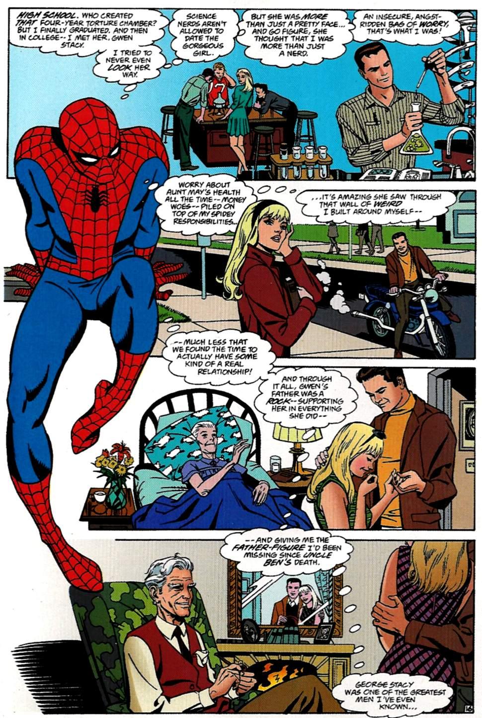 Read online Spider-Man: Lifeline comic -  Issue #1 - 17