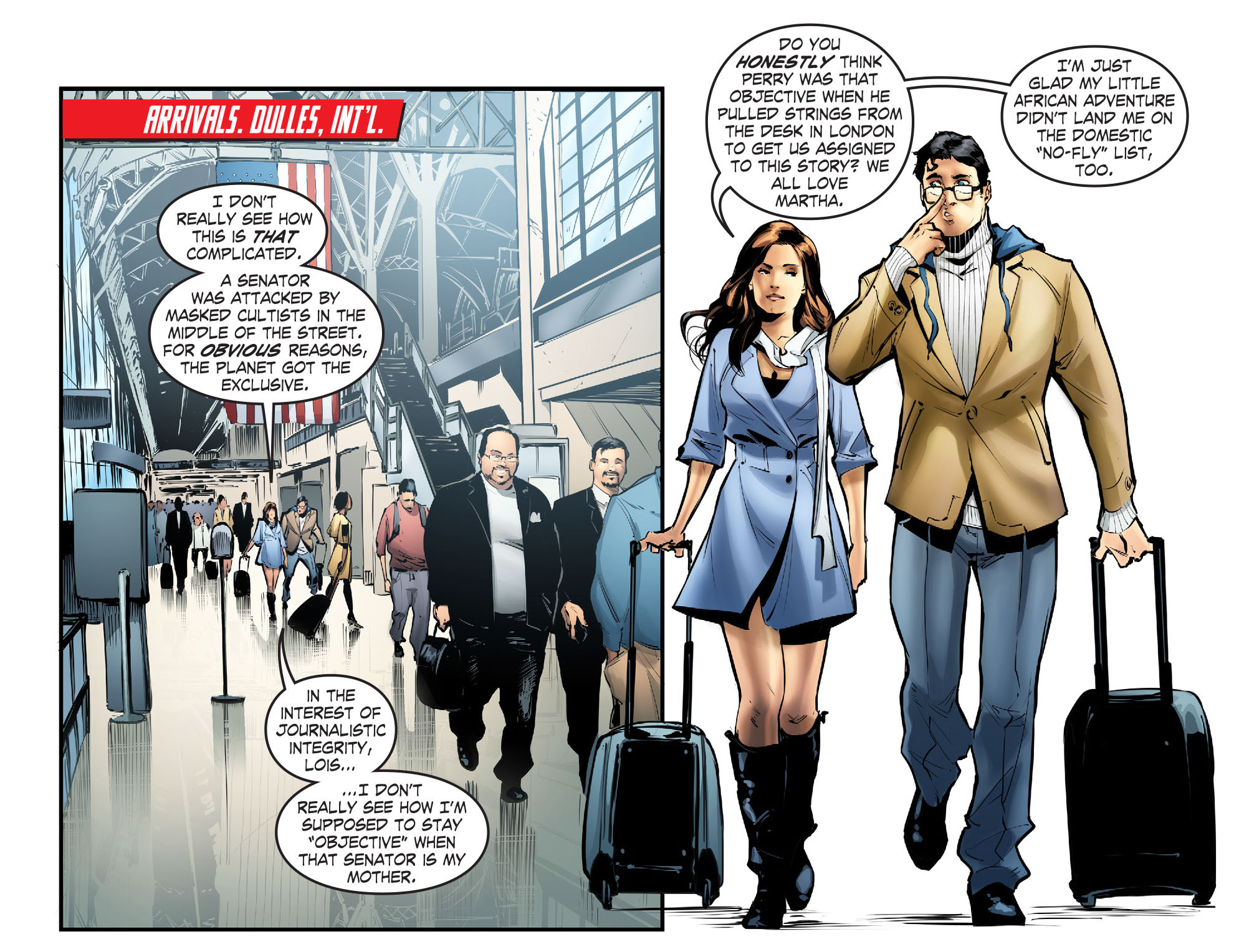Read online Smallville: Season 11 comic -  Issue #57 - 3