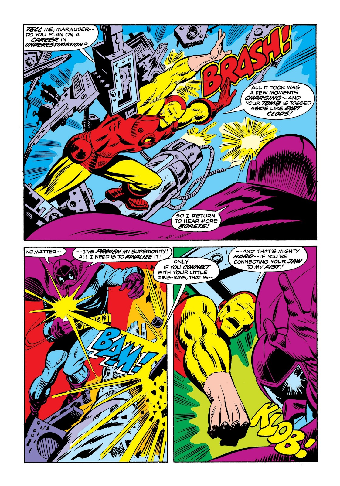 Read online Marvel Masterworks: The Invincible Iron Man comic -  Issue # TPB 9 (Part 2) - 66
