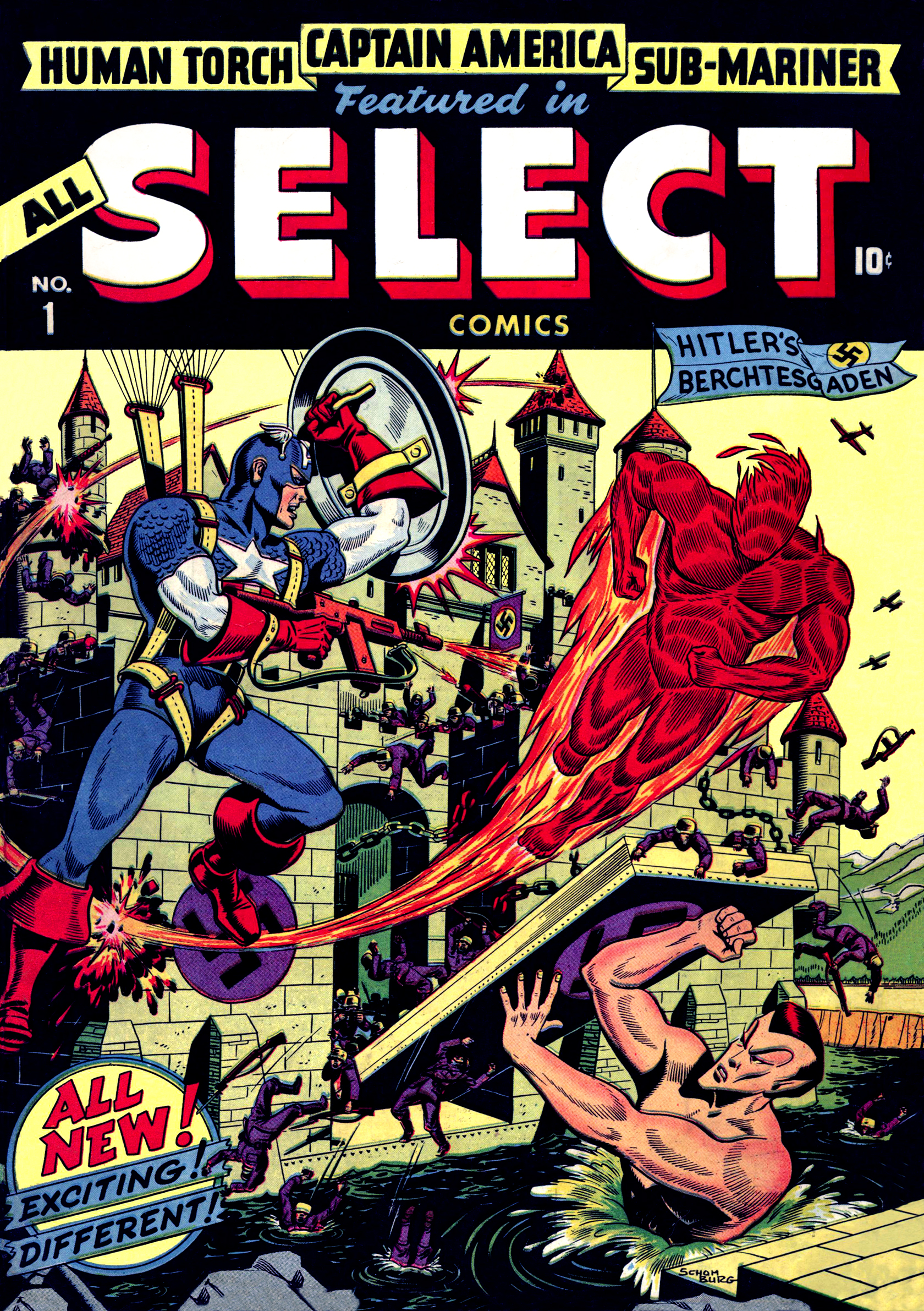 Read online All-Select Comics comic -  Issue #1 - 1
