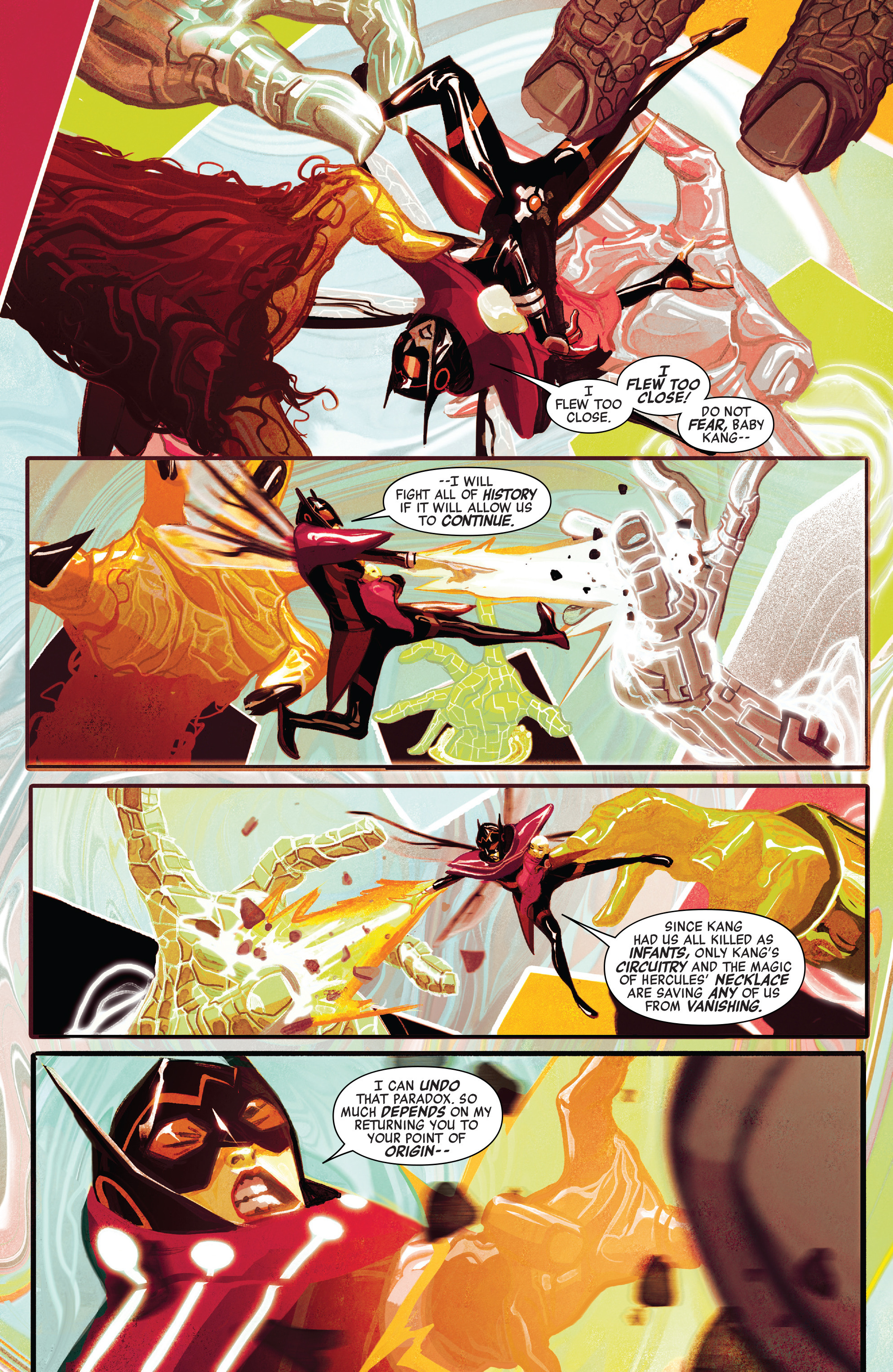 Read online Avengers (2016) comic -  Issue #3 - 5