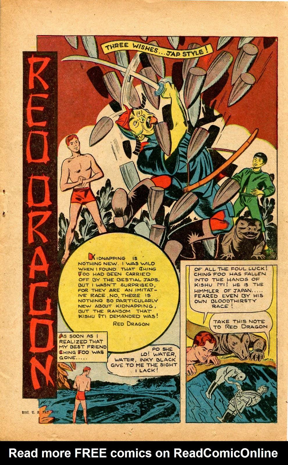 Read online Super-Magician Comics comic -  Issue #33 - 17