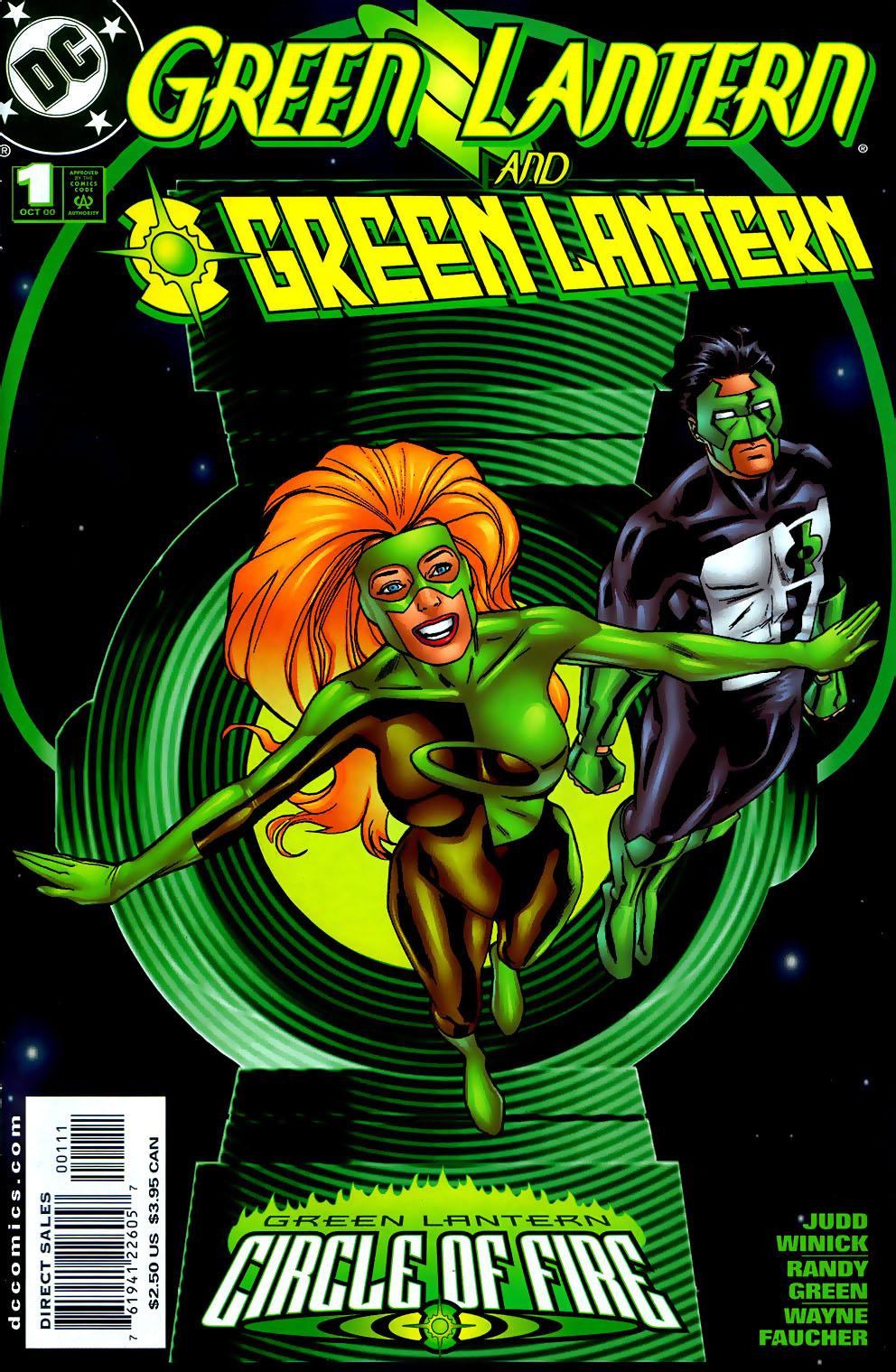 Green Lantern: Circle of Fire 6 Page 1