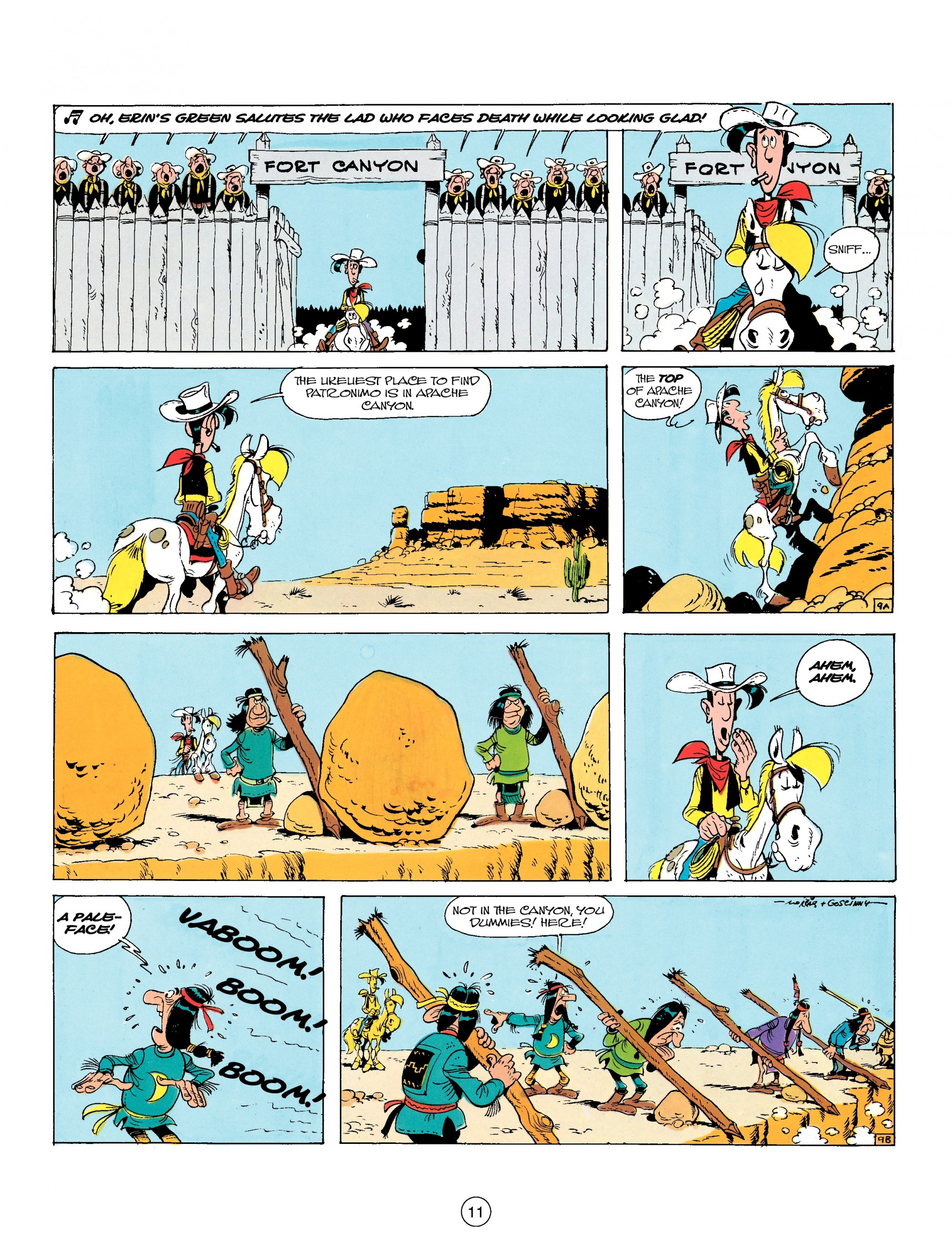 Read online A Lucky Luke Adventure comic -  Issue #17 - 11