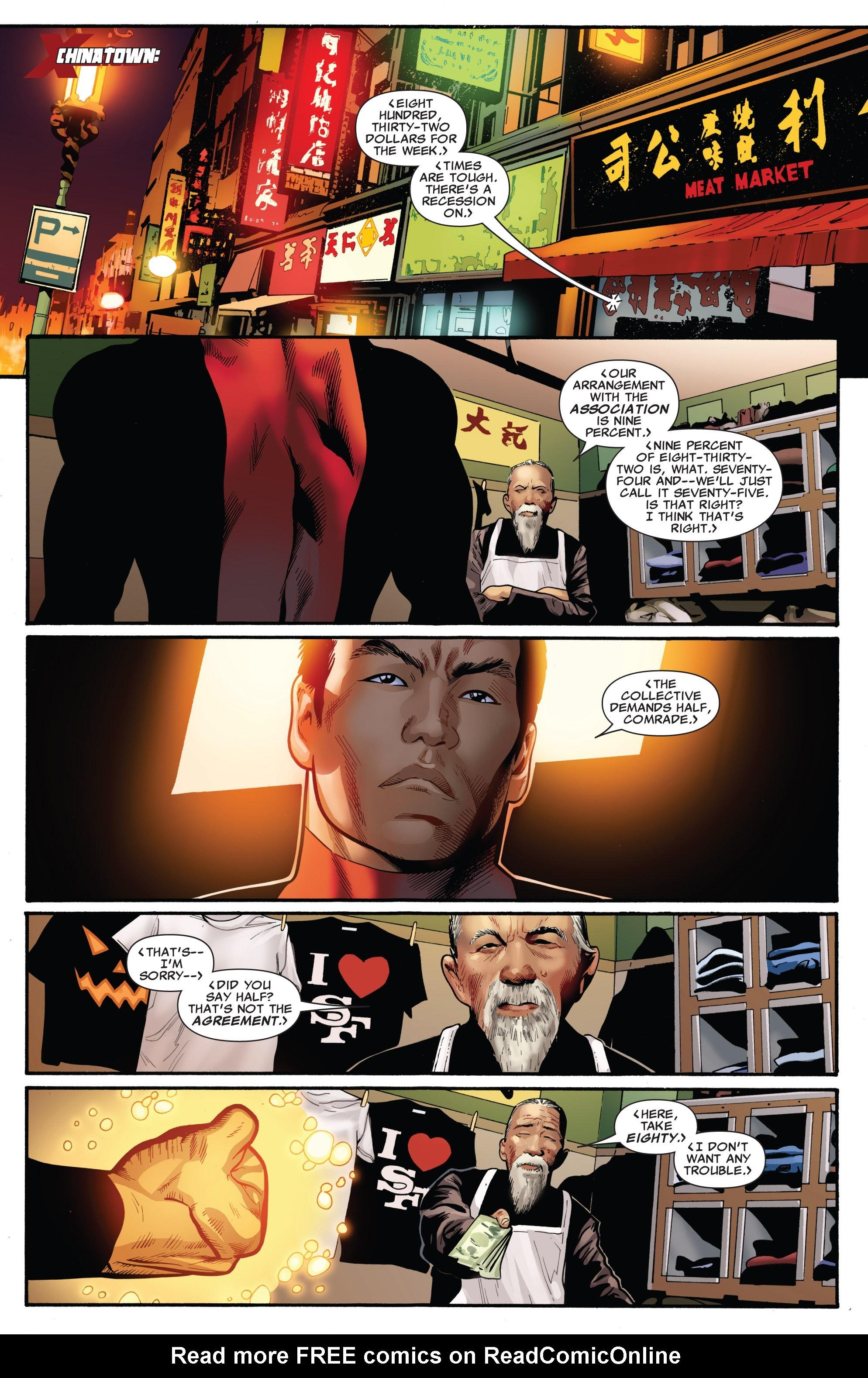 Read online Uncanny X-Men (1963) comic -  Issue #530 - 10
