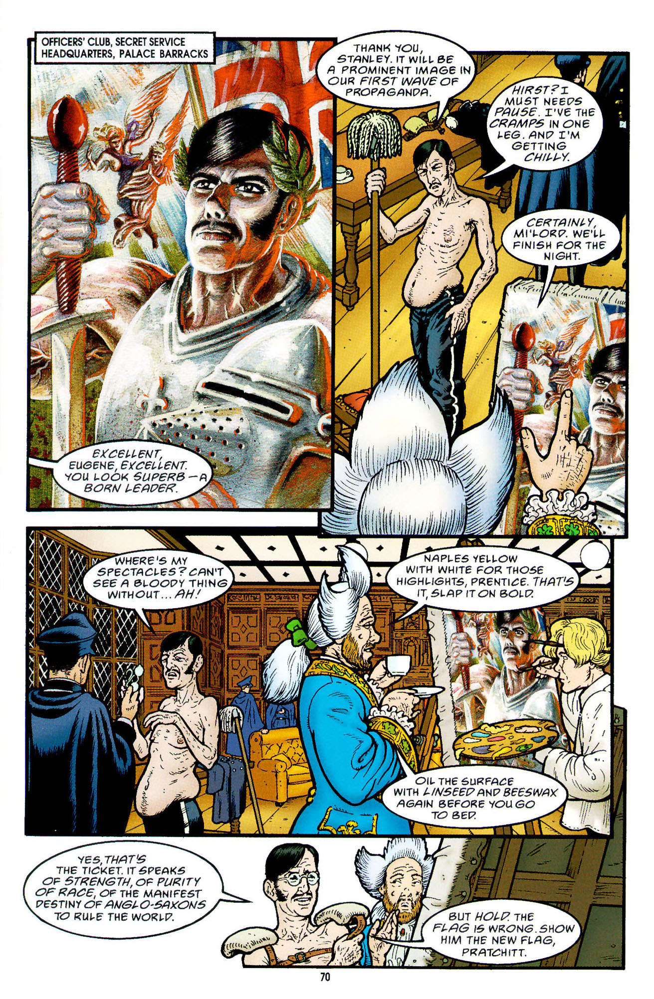 Read online Heart of Empire comic -  Issue #3 - 12