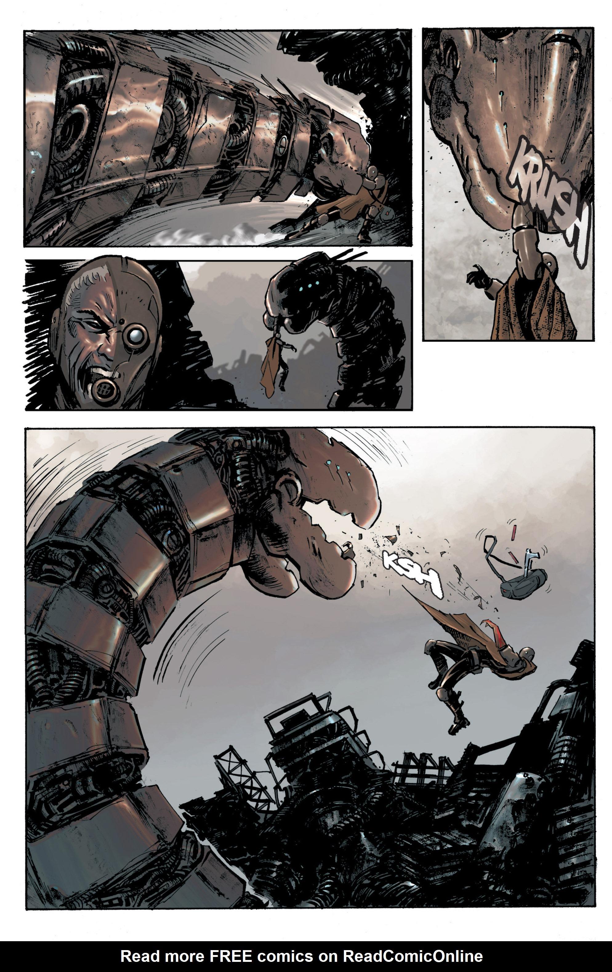 Read online Planetoid comic -  Issue # TPB - 24