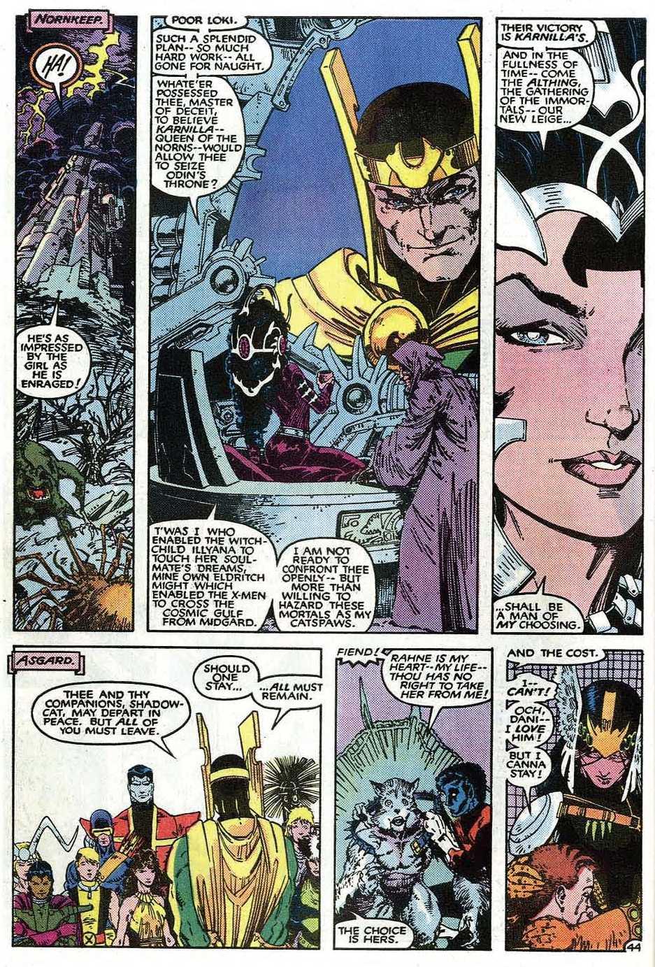 Read online Uncanny X-Men (1963) comic -  Issue # _Annual 9 - 46
