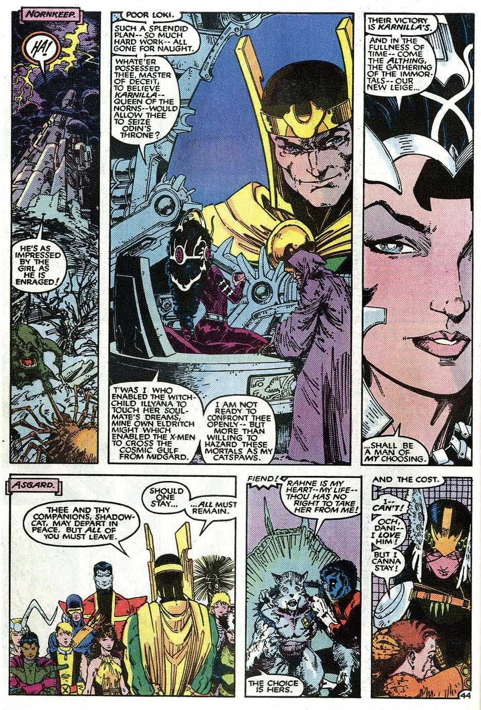 Uncanny X-Men (1963) issue _Annual_9 - Page 46