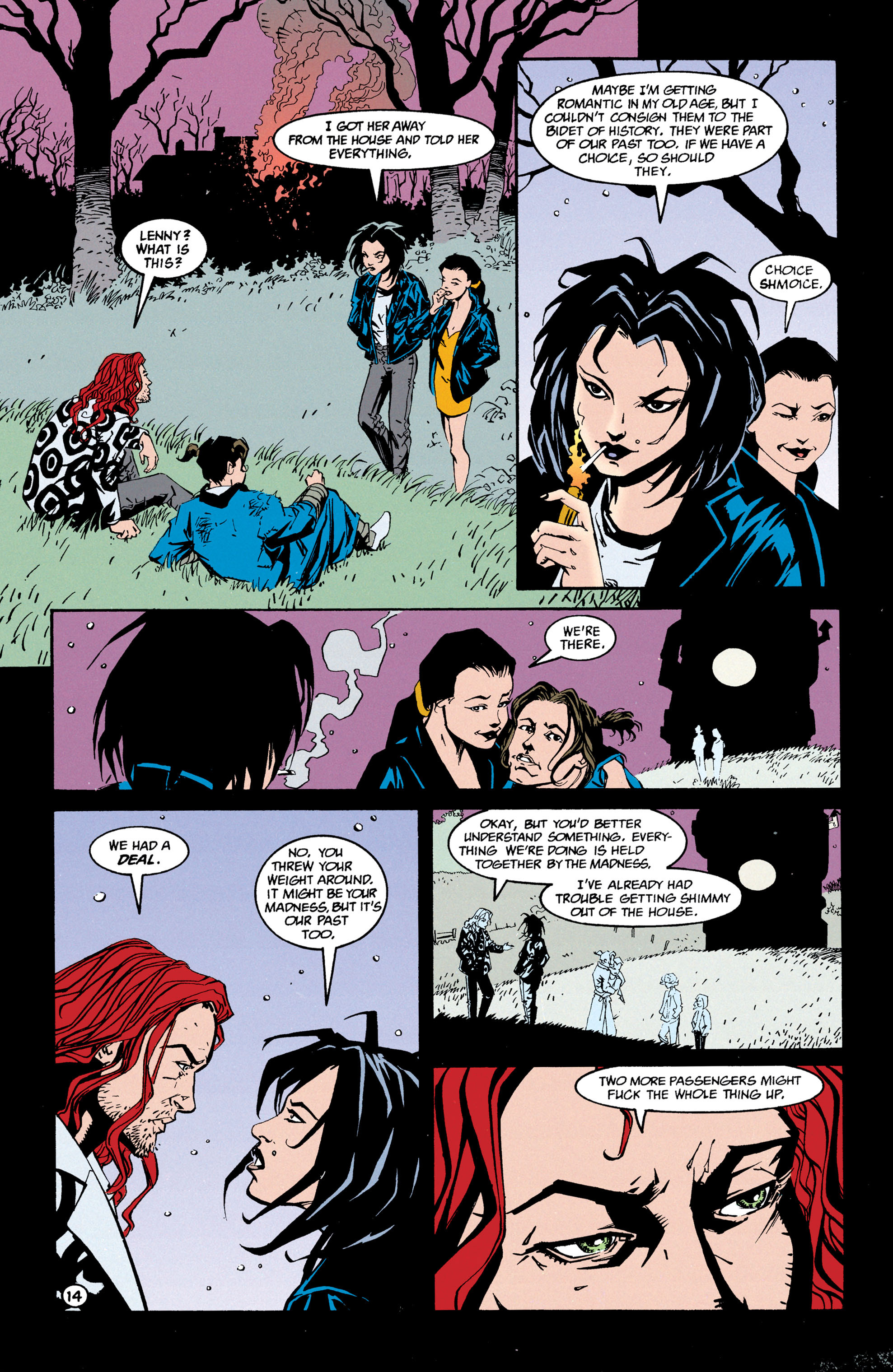 Read online Shade, the Changing Man comic -  Issue #68 - 15