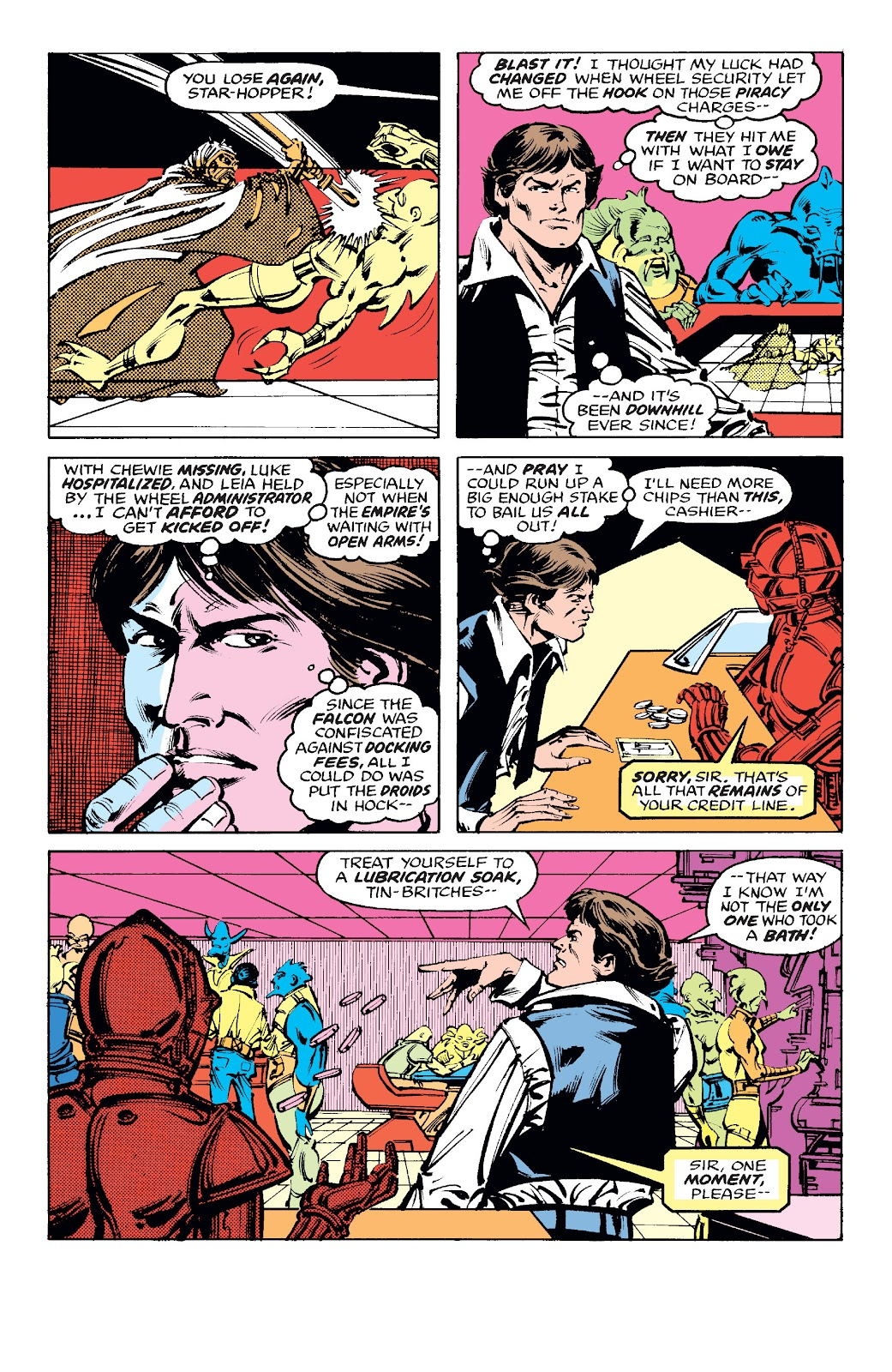 Read online Star Wars Legends: The Original Marvel Years - Epic Collection comic -  Issue # TPB 1 (Part 4) - 49