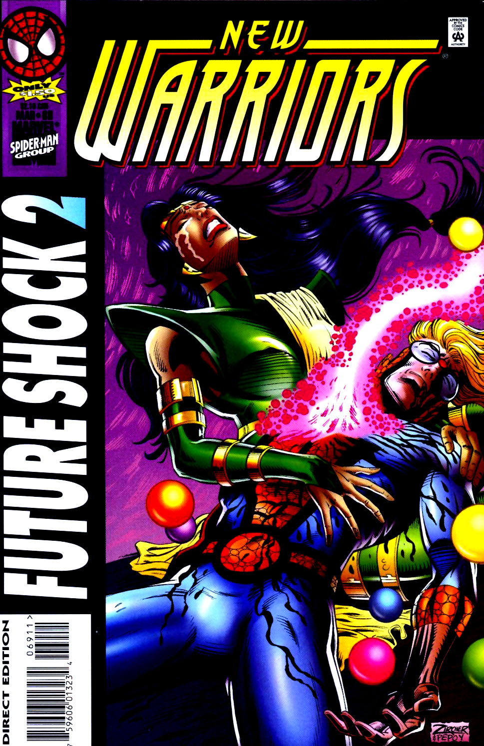The New Warriors Issue #69 #73 - English 1