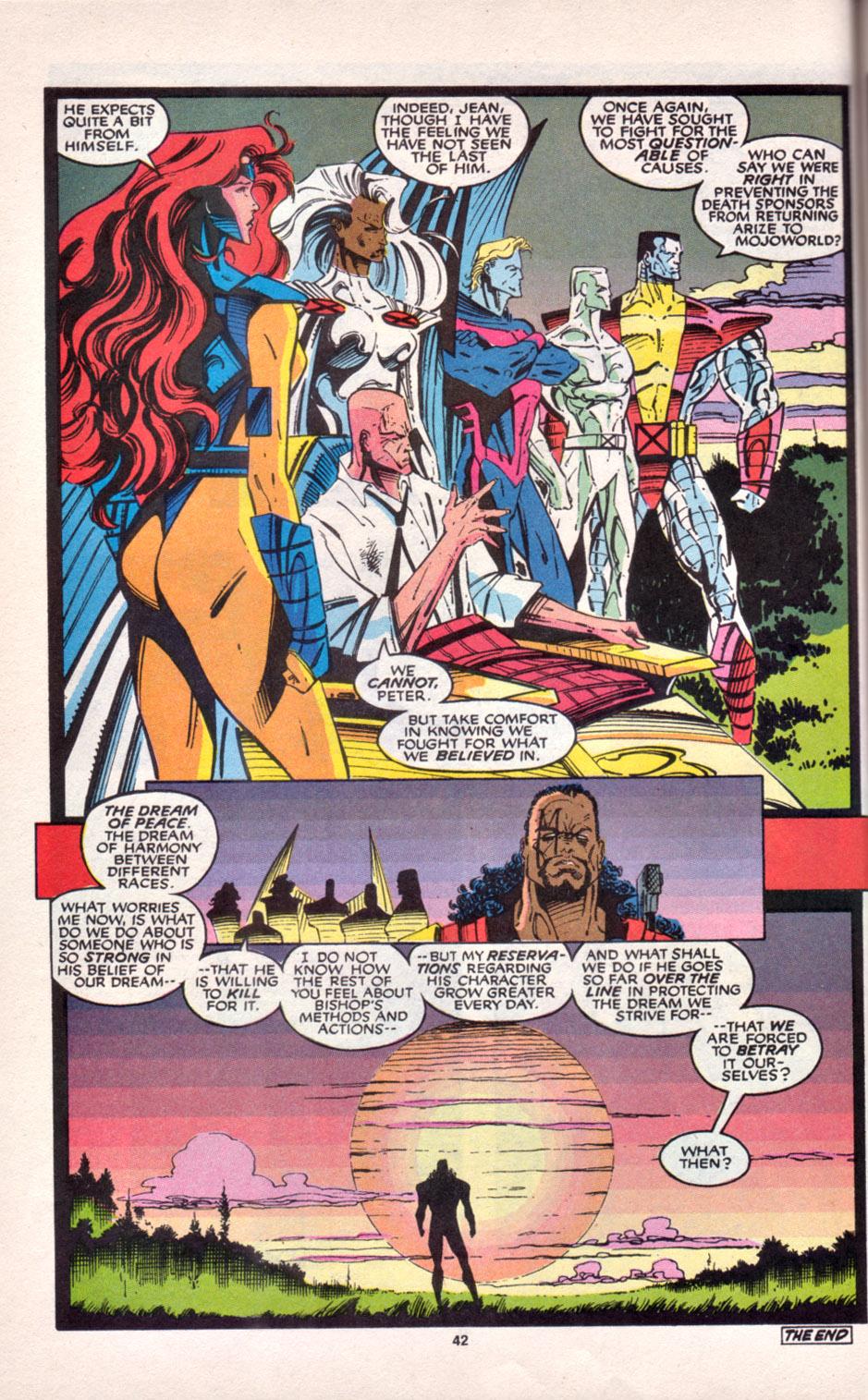 Read online Uncanny X-Men (1963) comic -  Issue # _Annual 16 - 35